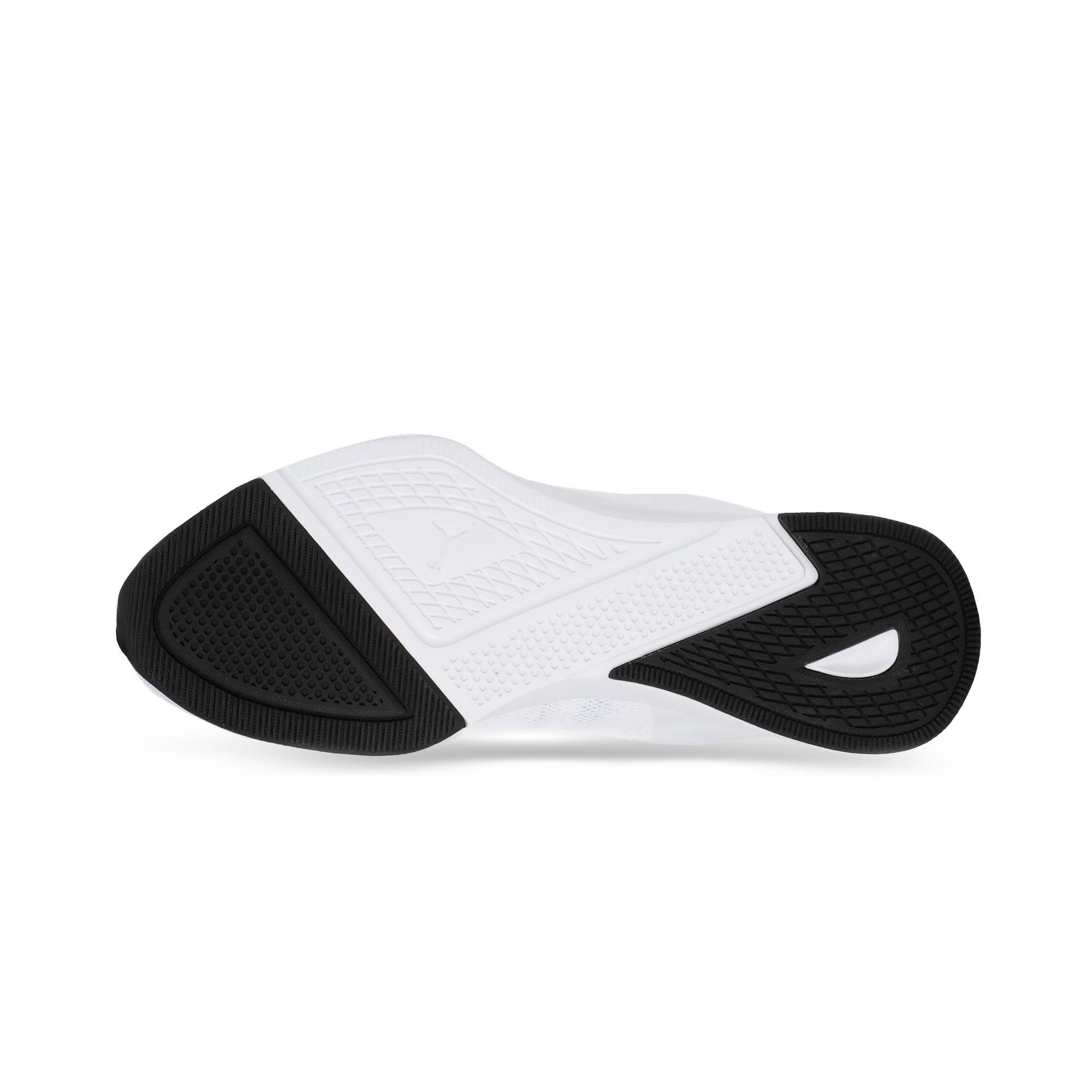 Thumbnail 4 of Flyer Modern Running Shoes, Puma White-Puma Black, medium-IND