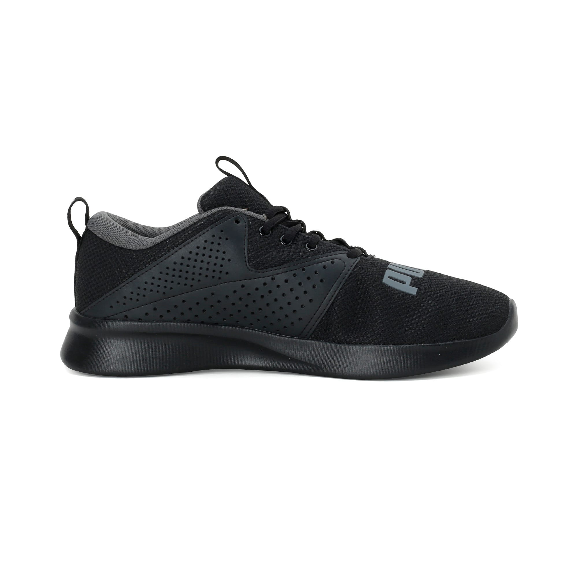 Thumbnail 5 of Flyer Modern Running Shoes, Puma Black-CASTLEROCK, medium-IND