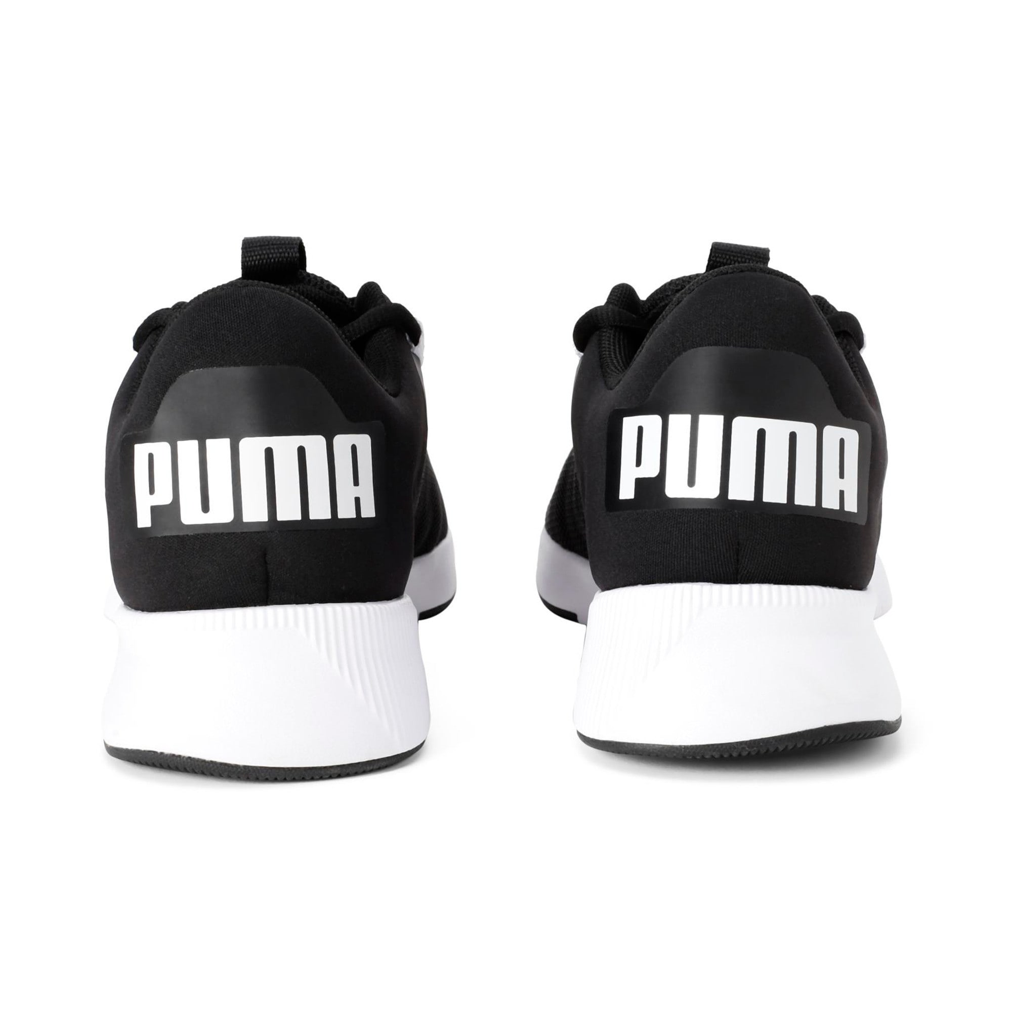 Thumbnail 2 of Flyer Modern Running Shoes, Puma Black-Puma White, medium-IND