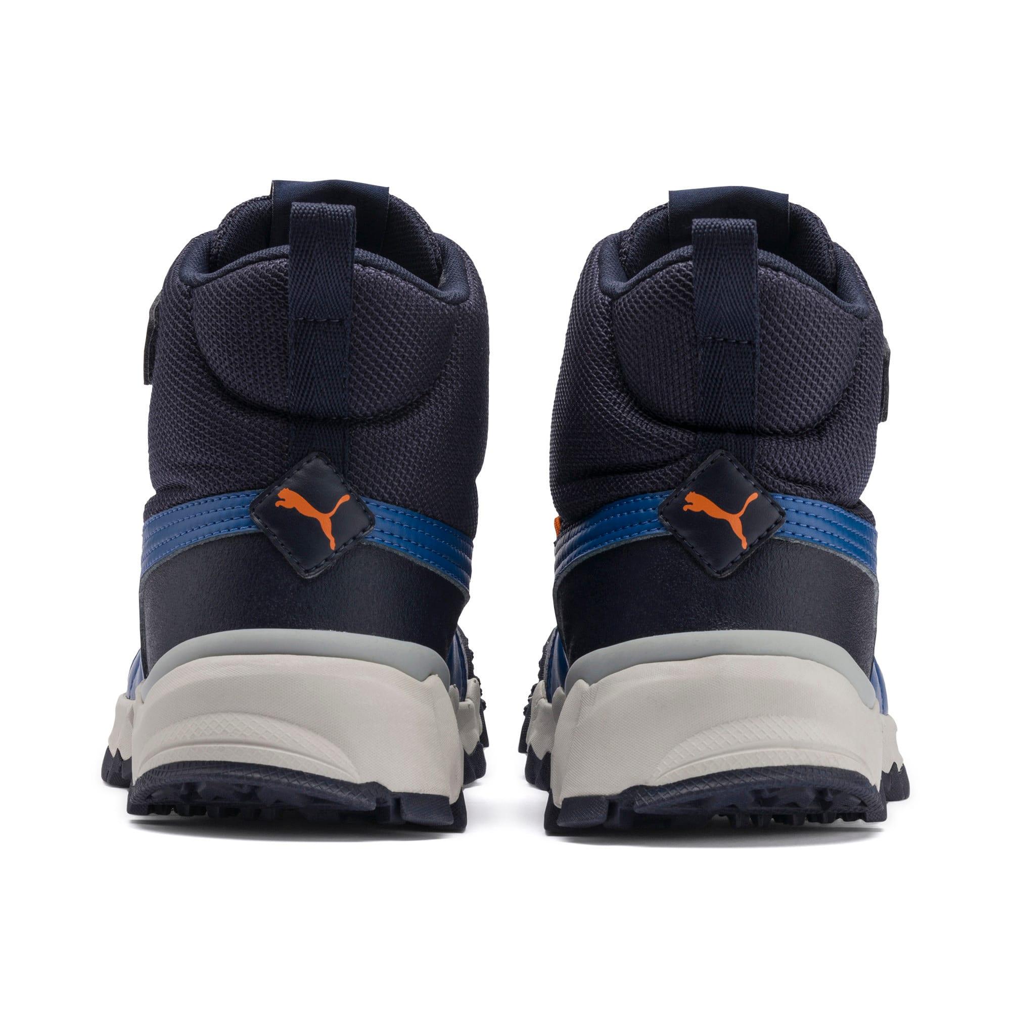 Thumbnail 3 of Maka PURETEX Boots JR, Peacoat-Jaffa Orange, medium