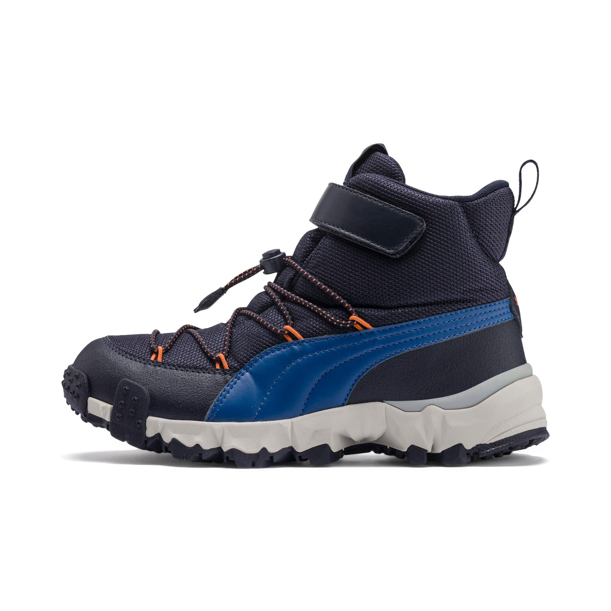 Thumbnail 1 of Maka PURETEX Boots JR, Peacoat-Jaffa Orange, medium