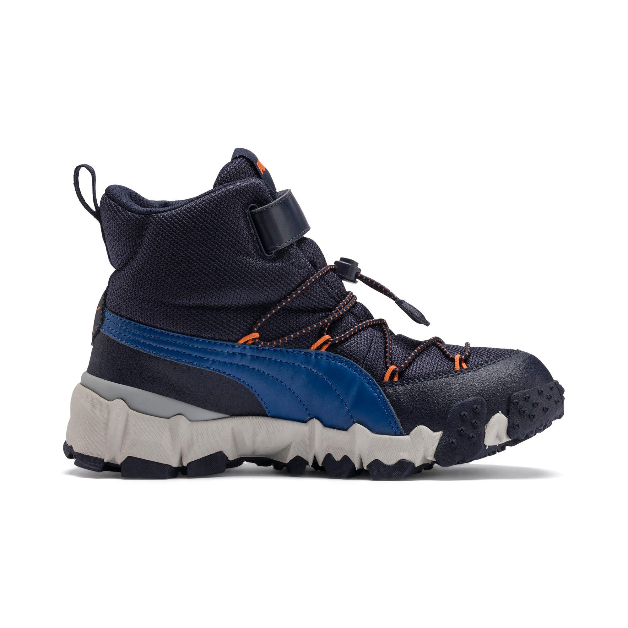 Thumbnail 5 of Maka PURETEX Boots JR, Peacoat-Jaffa Orange, medium