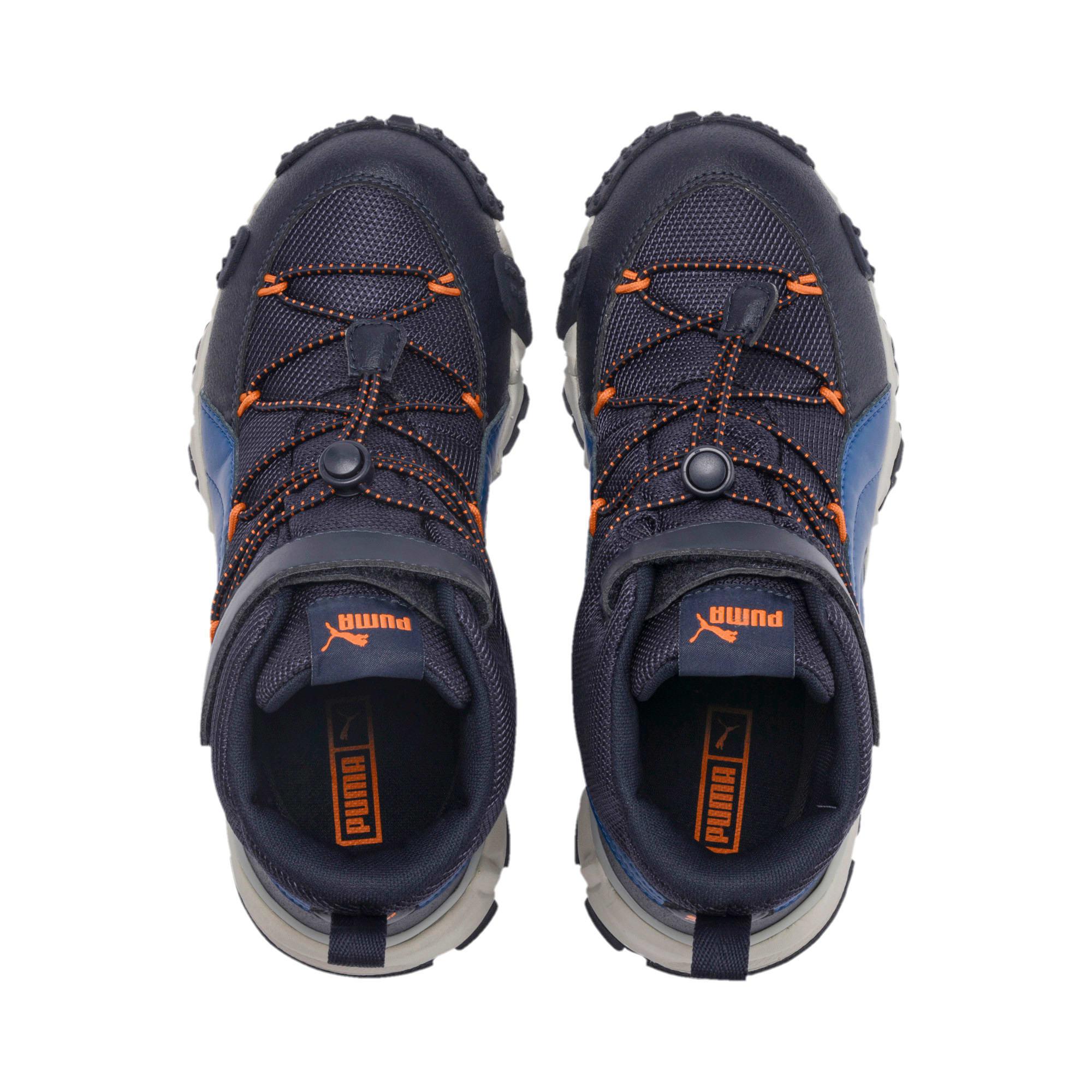 Thumbnail 6 of Maka PURETEX Boots JR, Peacoat-Jaffa Orange, medium