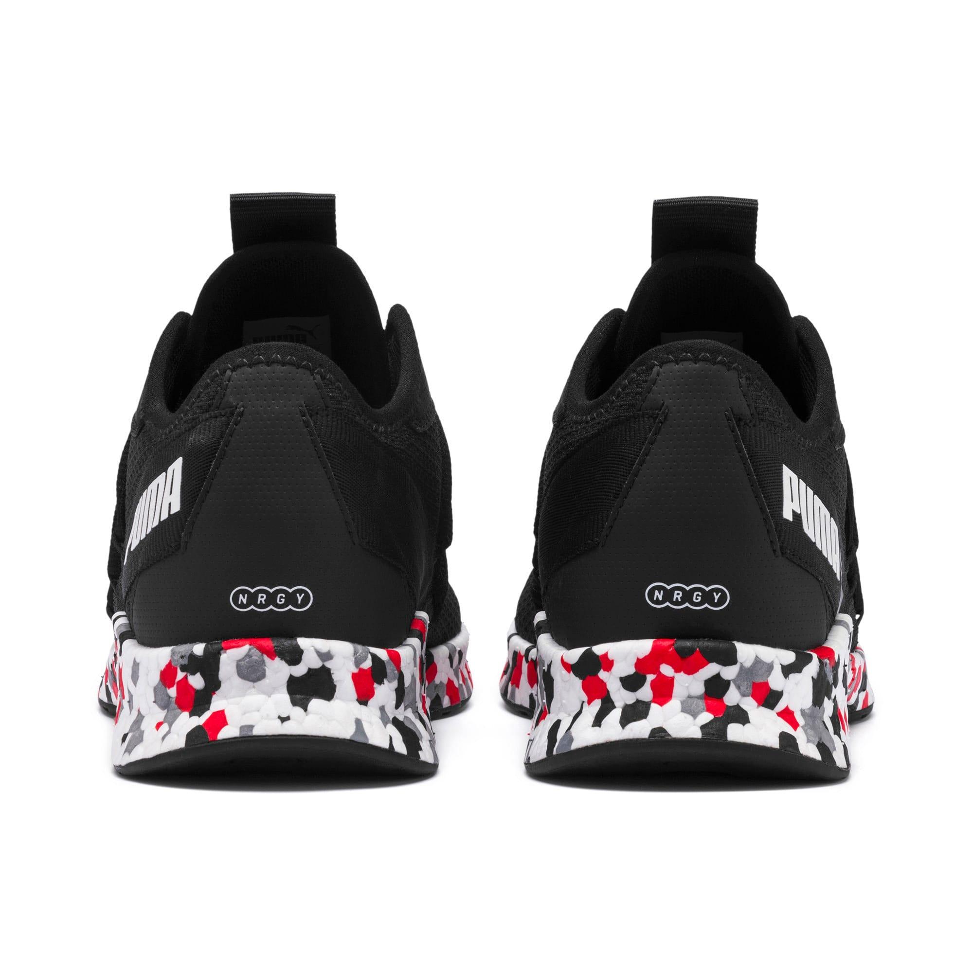 Thumbnail 4 of NRGY Star Multi Running Shoes, Black-White-Red, medium