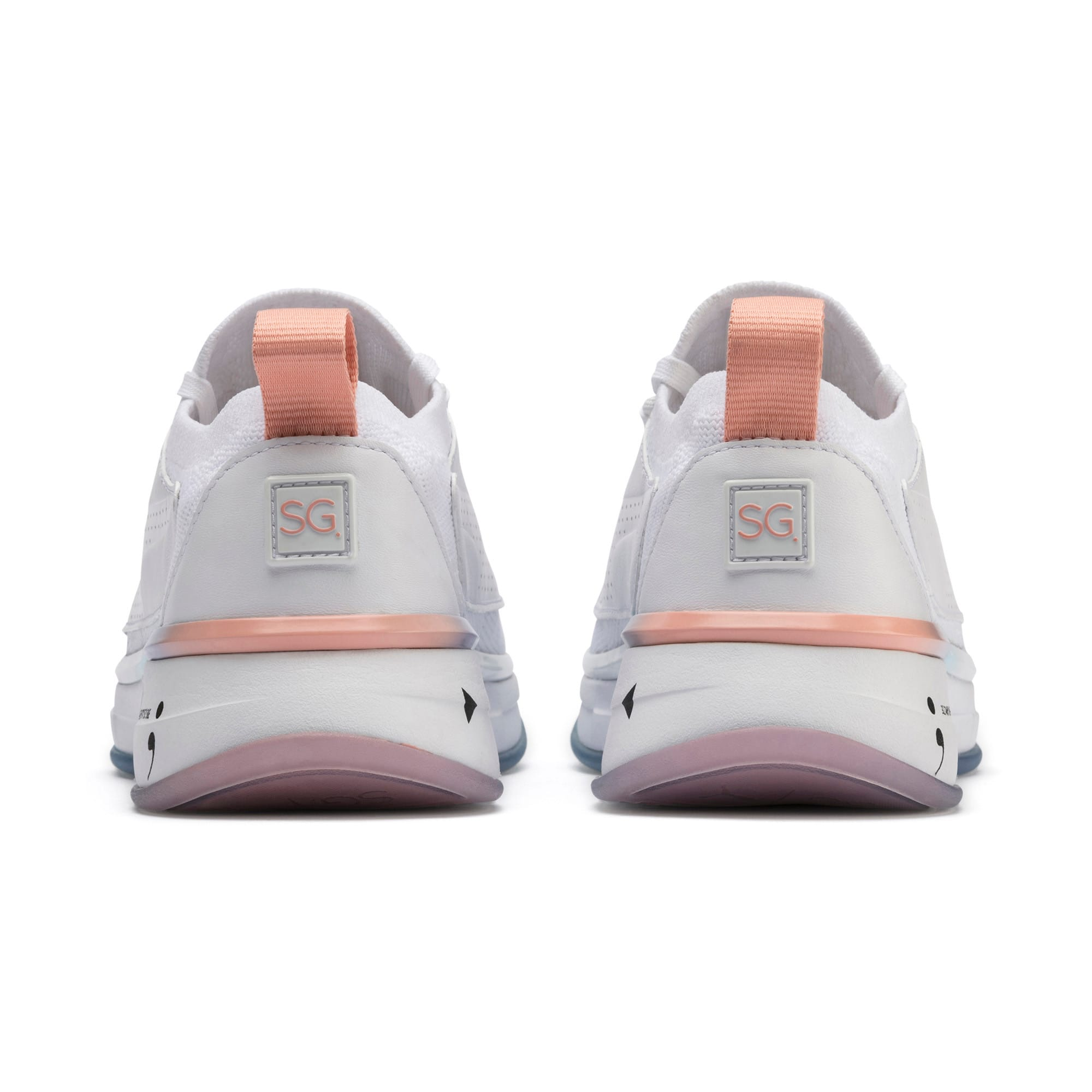Thumbnail 4 of PUMA x SELENA GOMEZ Runner Women's Training Shoes, Puma White-Peach Bud, medium