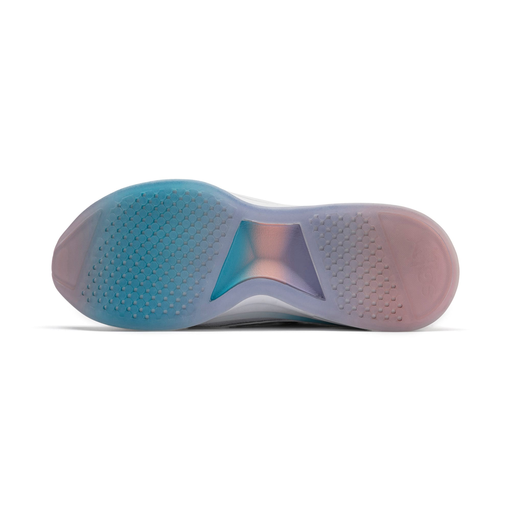 Miniatura 5 de Zapatos de entrenamiento SG Runner Ice para mujer, Puma White-Peach Bud, mediano