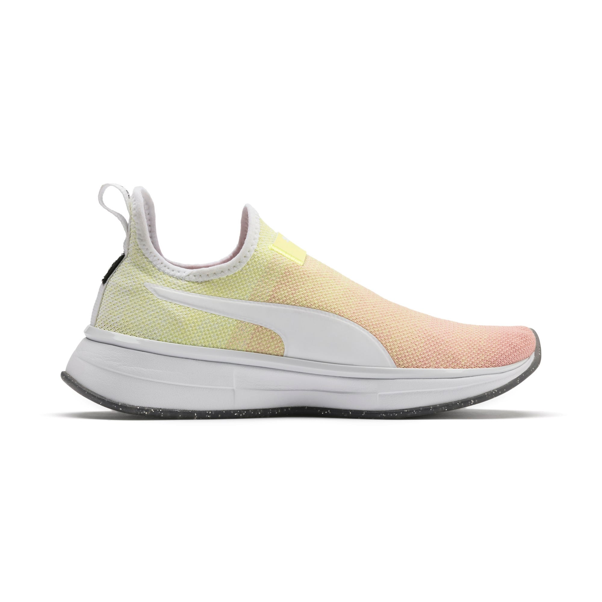 Miniatura 6 de Zapatos de entrenamiento SG Slip-On Sunrise para mujer, YELLOW-Peach Bud-White, mediano