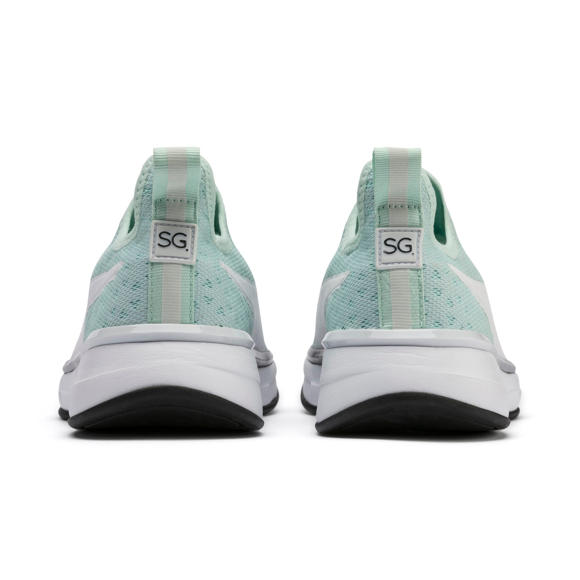 Thumbnail 4 of SG Slip-on Bright Fade Women's Training Shoes, Fair Aqua-Puma Black, medium