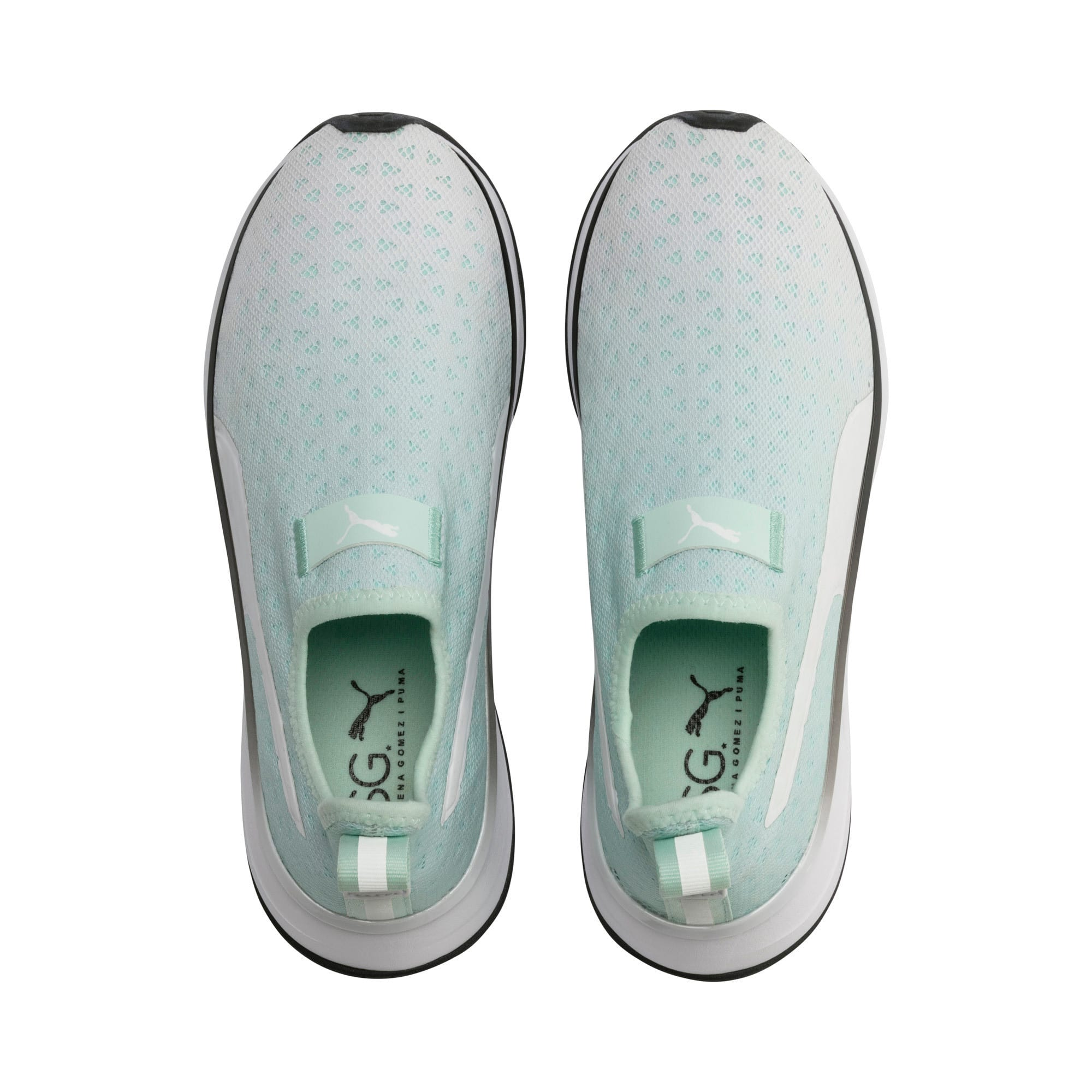 Thumbnail 7 of SG Slip-on Bright Fade Women's Training Shoes, Fair Aqua-Puma Black, medium