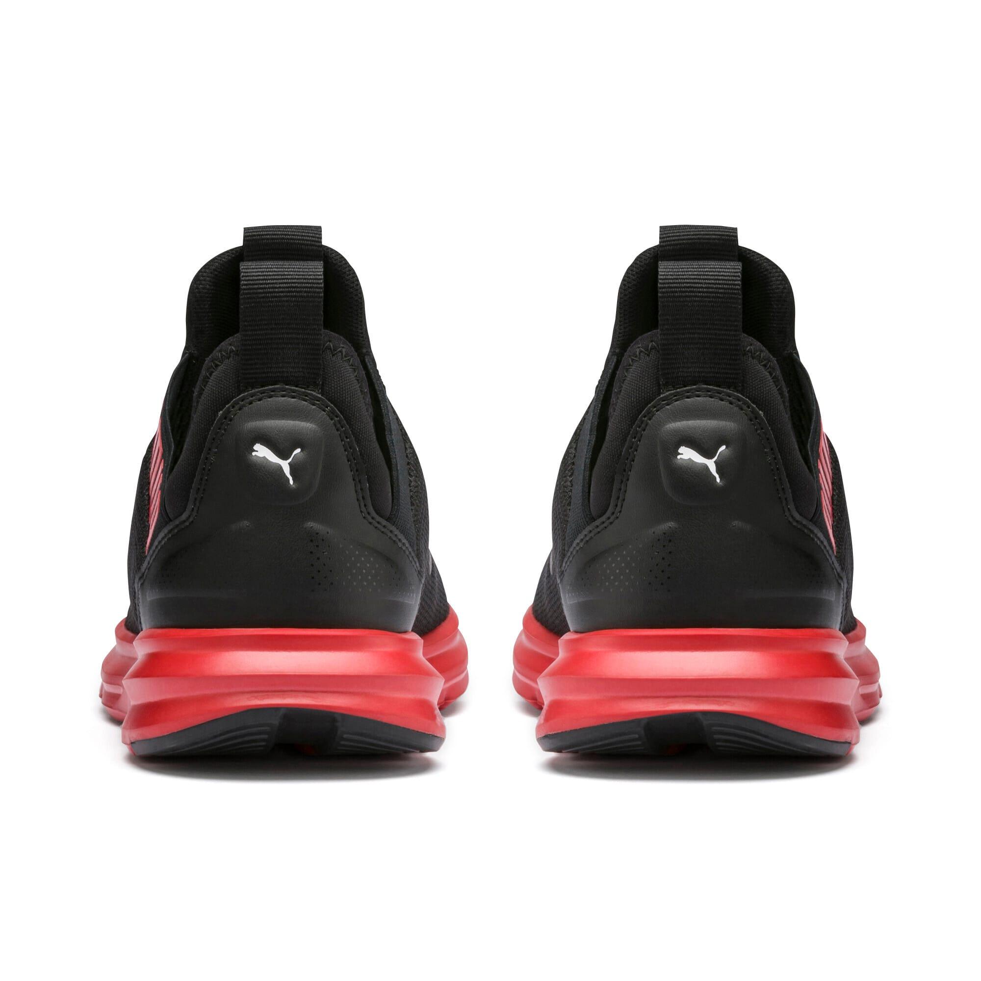 Thumbnail 3 of Enzo Beta Sneakers JR, Puma Black-High Risk Red, medium