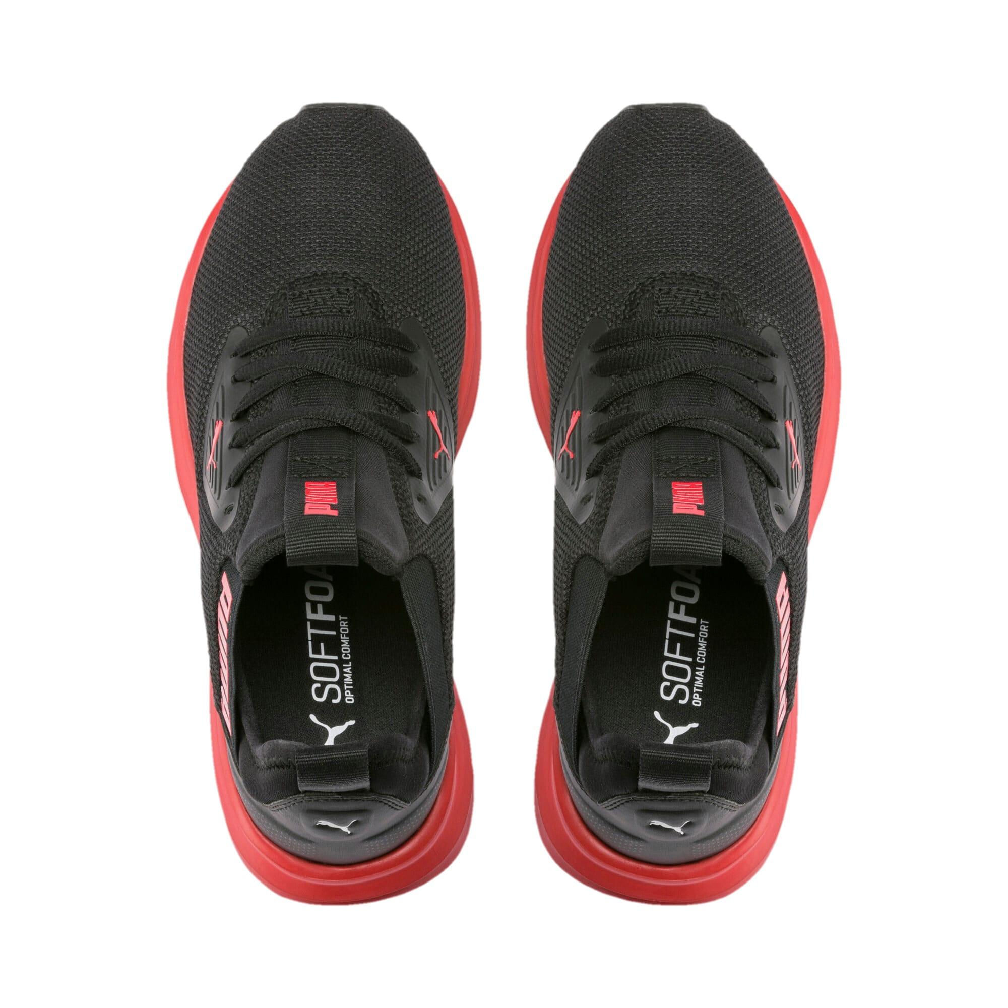 Thumbnail 6 of Enzo Beta Sneakers JR, Puma Black-High Risk Red, medium