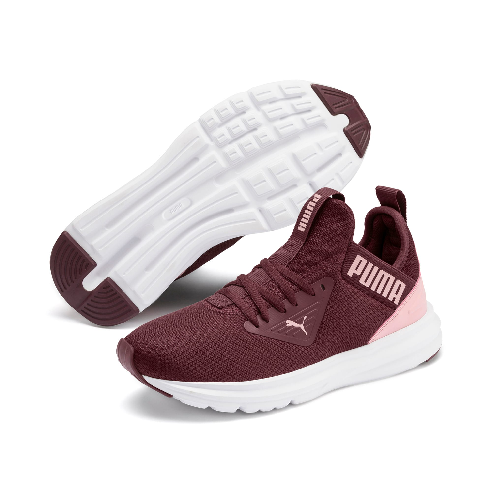 Thumbnail 2 of Enzo Beta Shine Sneakers JR, Vineyard Wine-Bridal Rose, medium