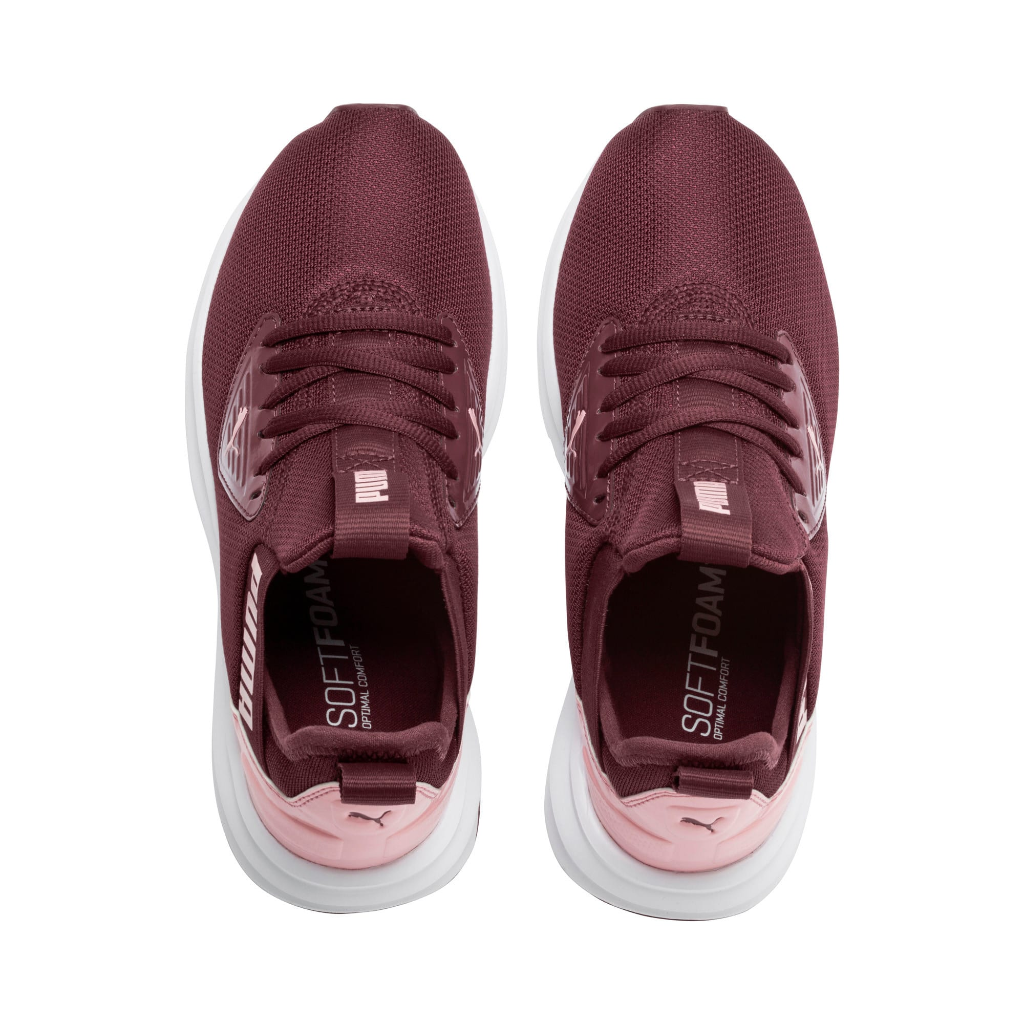 Thumbnail 6 of Enzo Beta Shine Sneakers JR, Vineyard Wine-Bridal Rose, medium