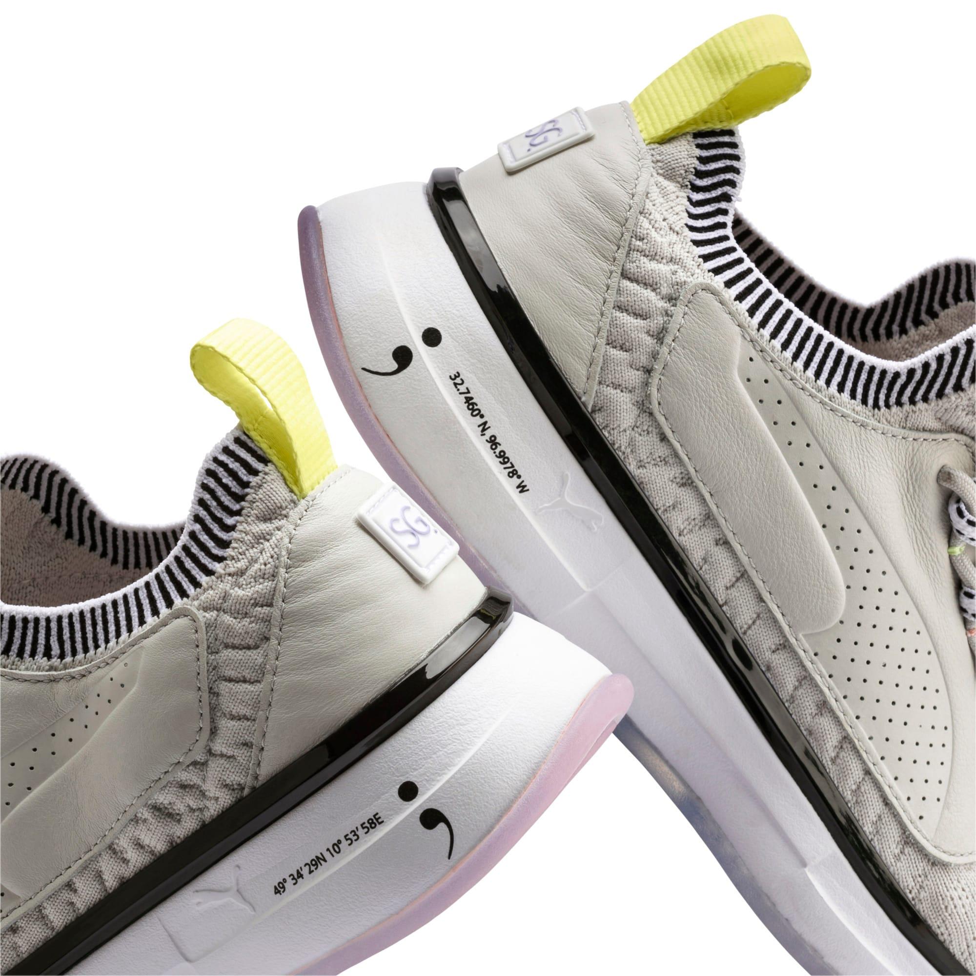 Thumbnail 8 of Chaussure pour l'entraînement PUMA x SELENA GOMEZ Runner pour femme, Glacier Gray-Puma White, medium