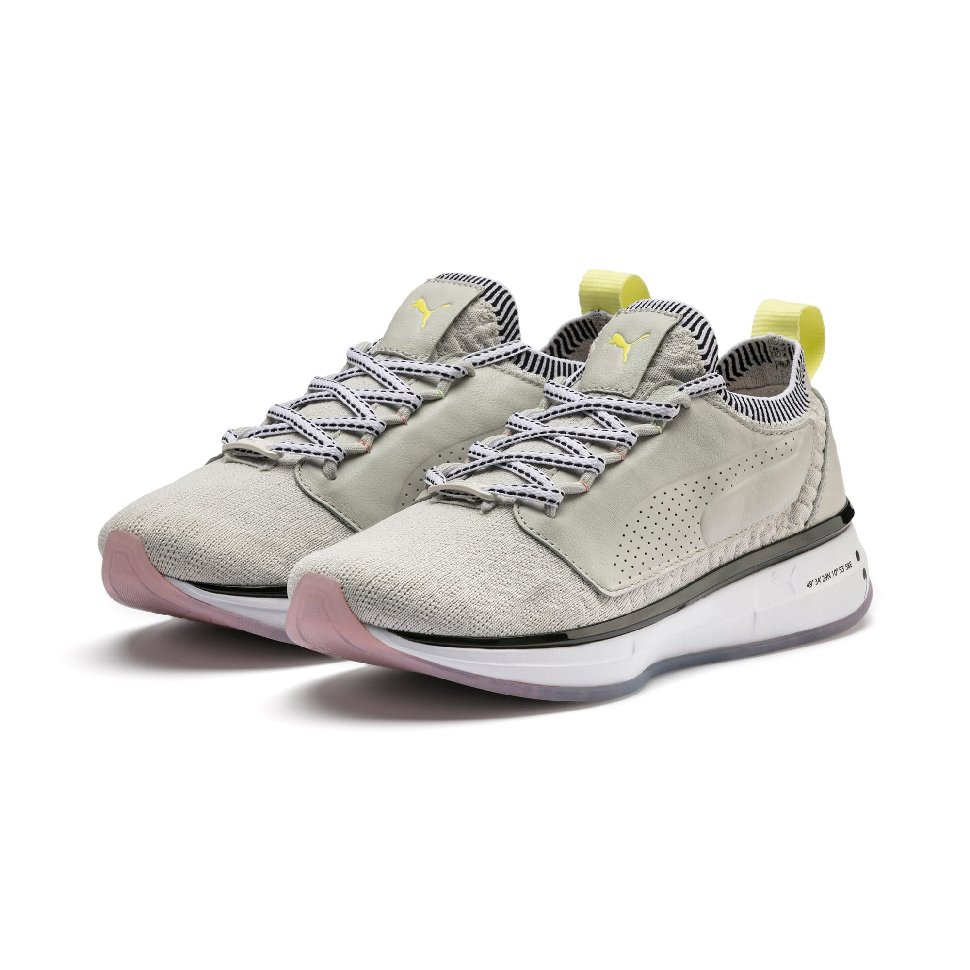 Thumbnail 3 of Chaussure pour l'entraînement PUMA x SELENA GOMEZ Runner pour femme, Glacier Gray-Puma White, medium