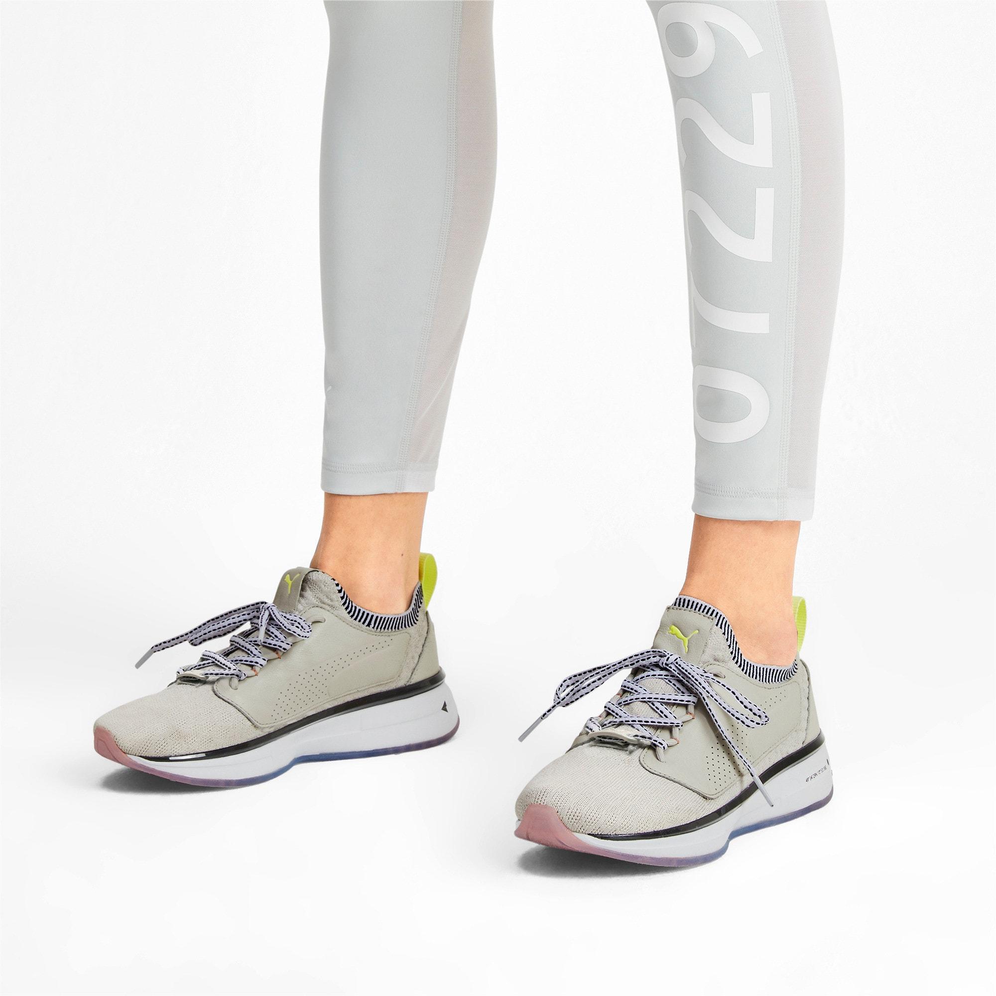 Thumbnail 2 of Chaussure pour l'entraînement PUMA x SELENA GOMEZ Runner pour femme, Glacier Gray-Puma White, medium