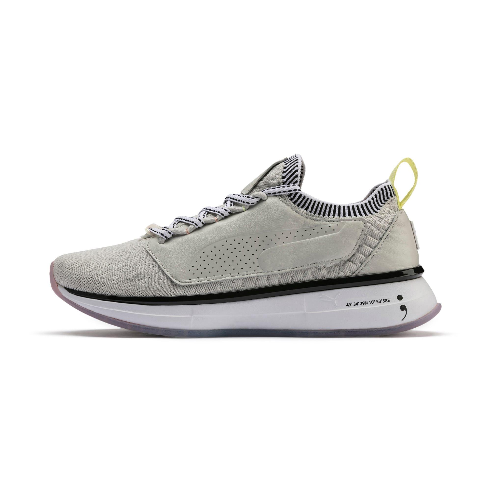 Thumbnail 1 of Chaussure pour l'entraînement PUMA x SELENA GOMEZ Runner pour femme, Glacier Gray-Puma White, medium