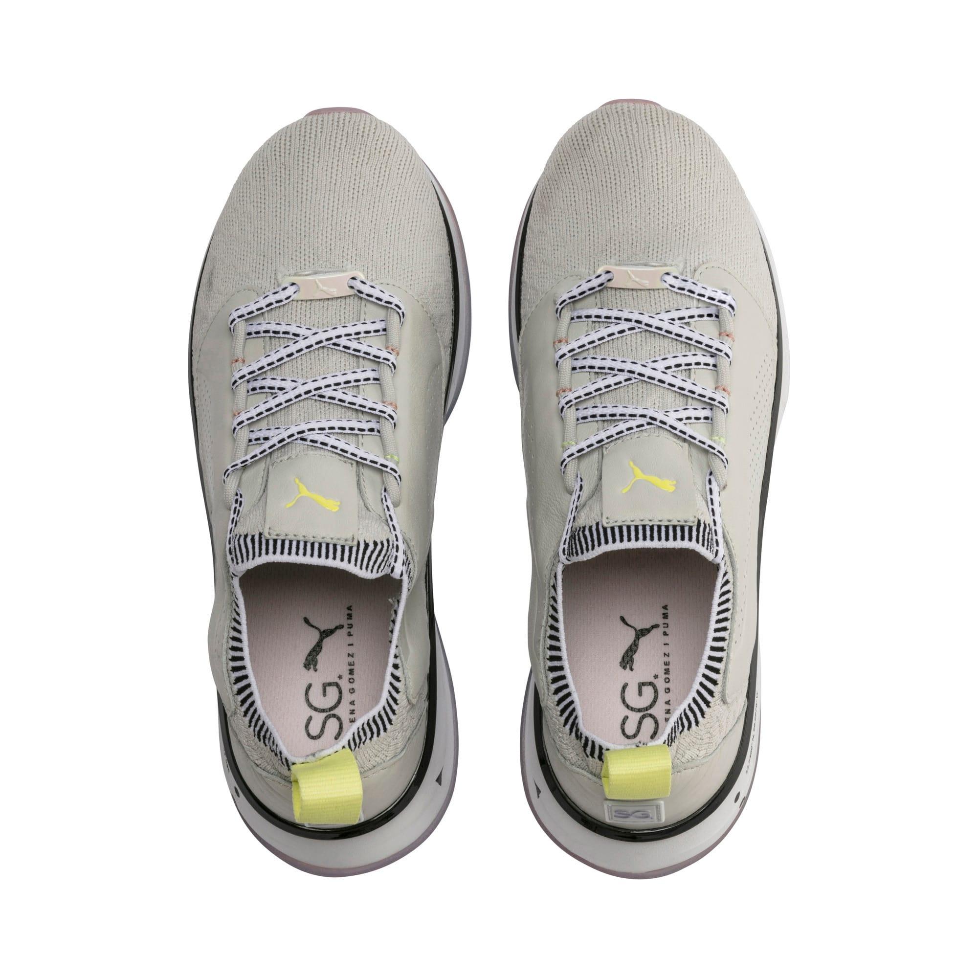 Thumbnail 7 of Chaussure pour l'entraînement PUMA x SELENA GOMEZ Runner pour femme, Glacier Gray-Puma White, medium