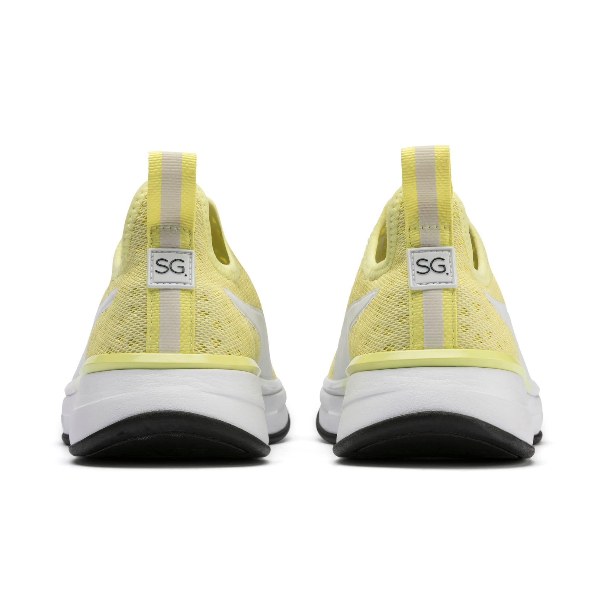 Thumbnail 4 of PUMA x SELENA GOMEZ Slip-On Women's Training Shoes, YELLOW-Puma White-Puma Black, medium