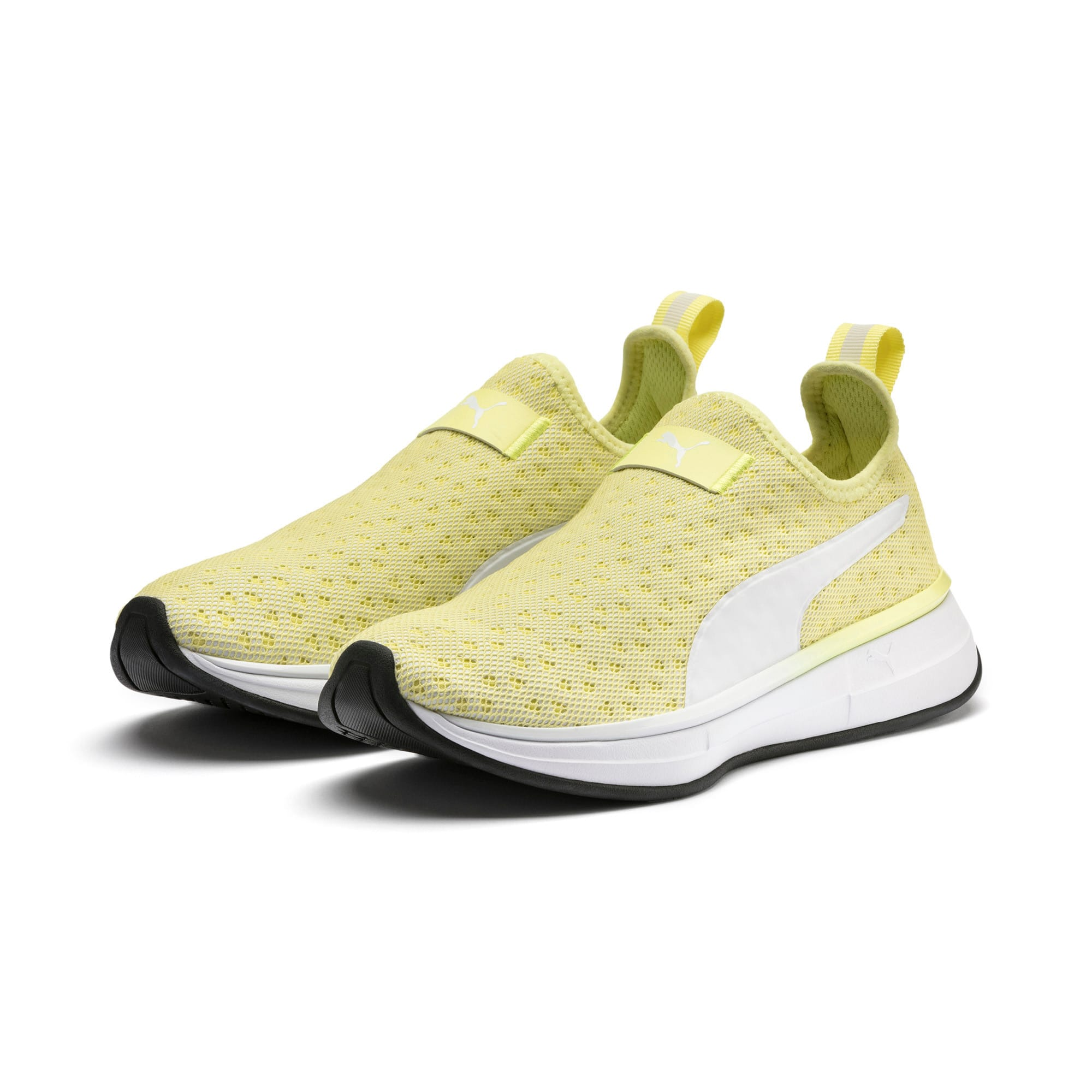Thumbnail 3 of SG Slip-on Bright Women's Training Shoes, YELLOW-Puma White-Puma Black, medium