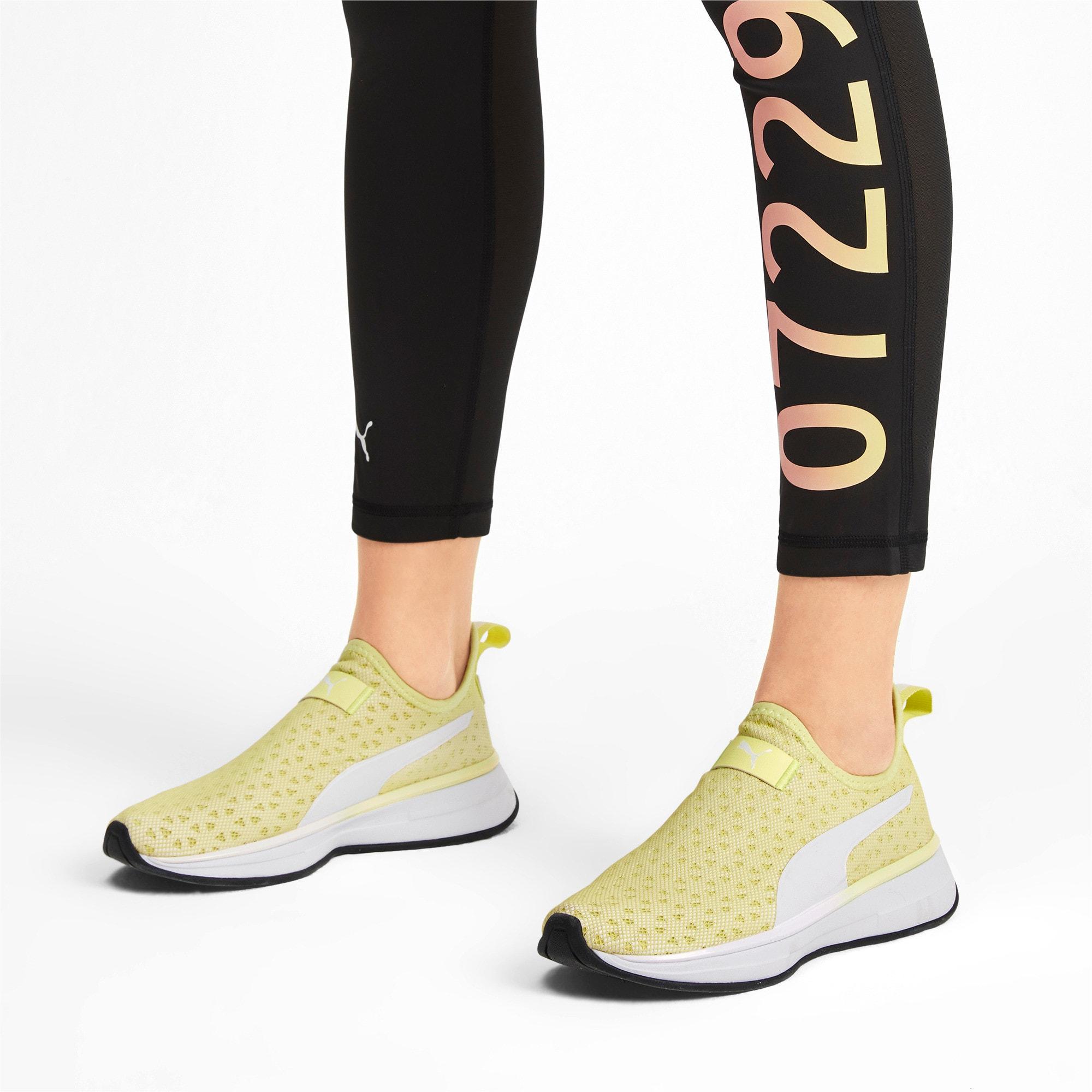 Thumbnail 2 of PUMA x SELENA GOMEZ Slip-On Women's Training Shoes, YELLOW-Puma White-Puma Black, medium