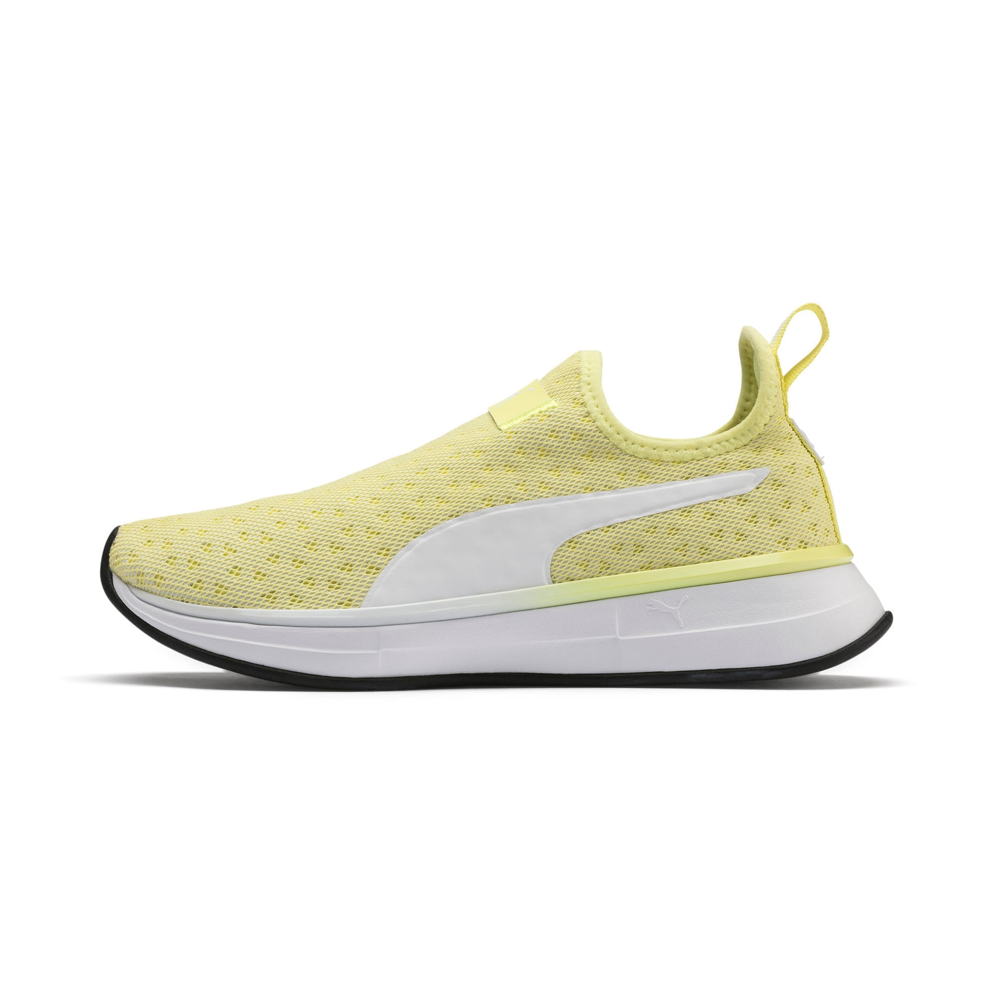 Thumbnail 1 of SG Slip-on Bright Women's Training Shoes, YELLOW-Puma White-Puma Black, medium