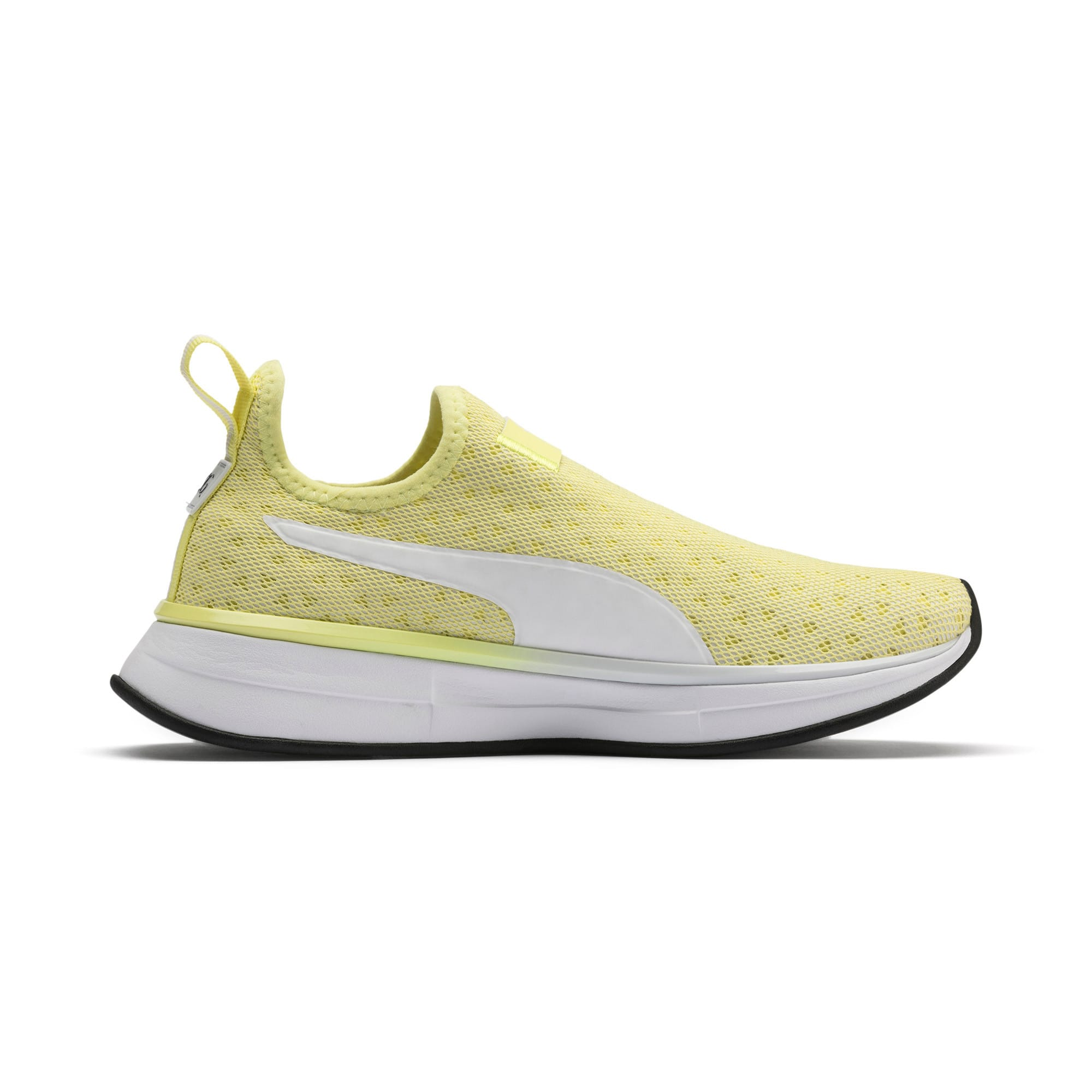 Thumbnail 6 of SG Slip-on Bright Women's Training Shoes, YELLOW-Puma White-Puma Black, medium