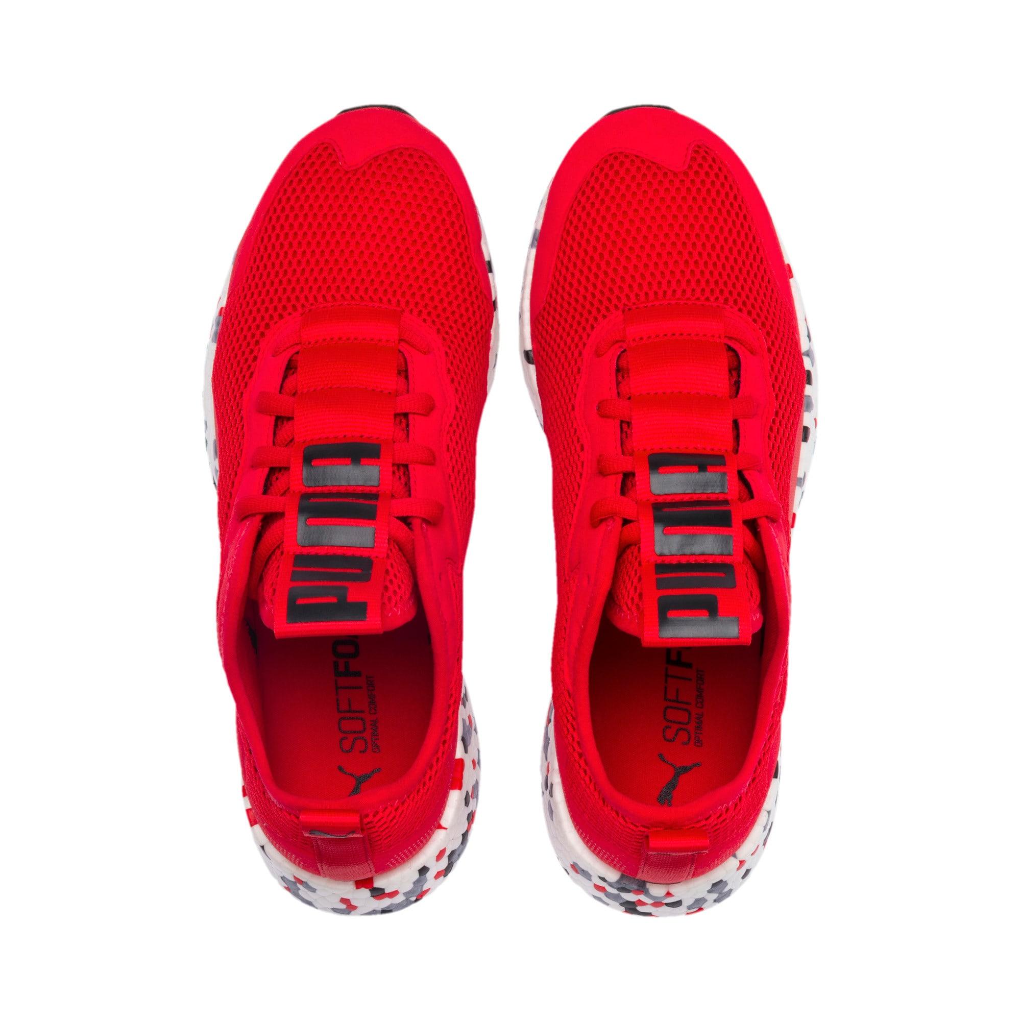 Thumbnail 4 of NRGY Neko Skim Men's Running Shoes, High Risk Red-Puma Black, medium-IND