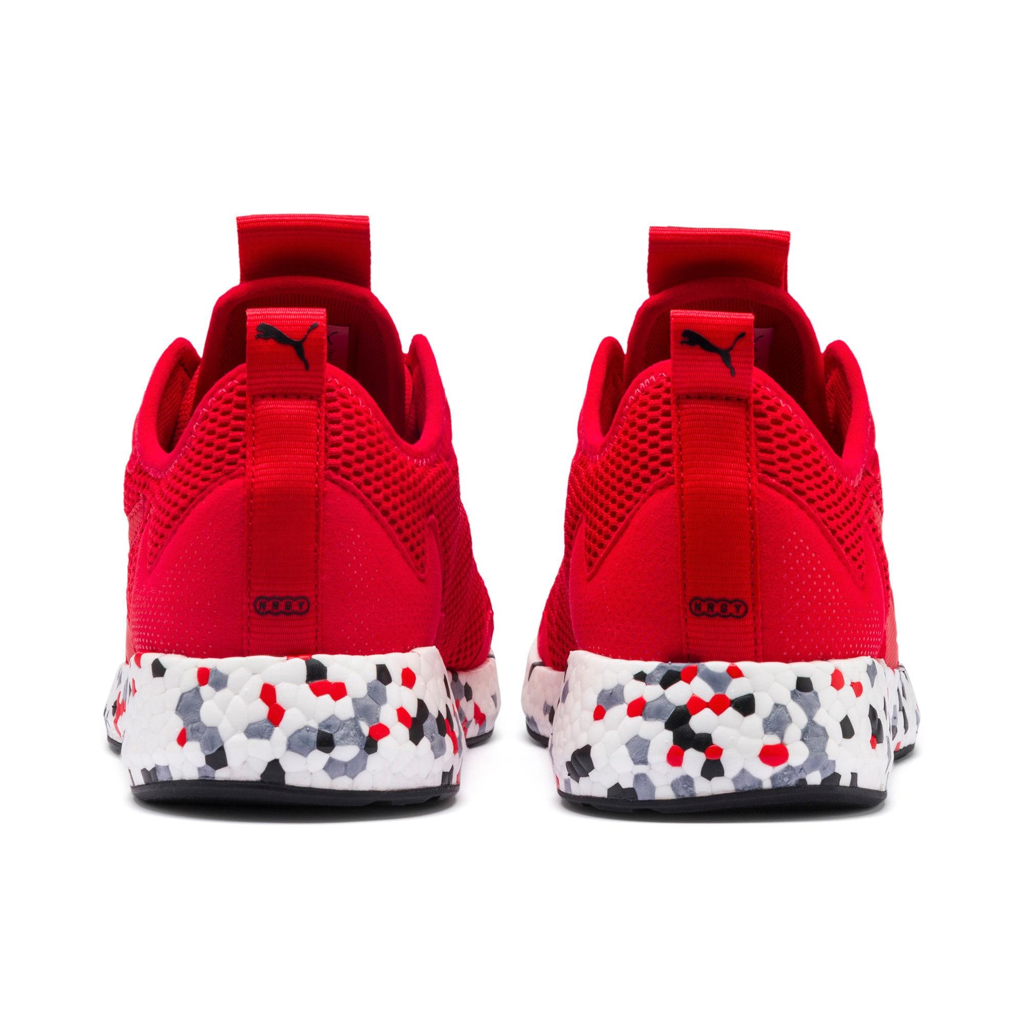 Thumbnail 6 of NRGY Neko Skim Men's Running Shoes, High Risk Red-Puma Black, medium-IND