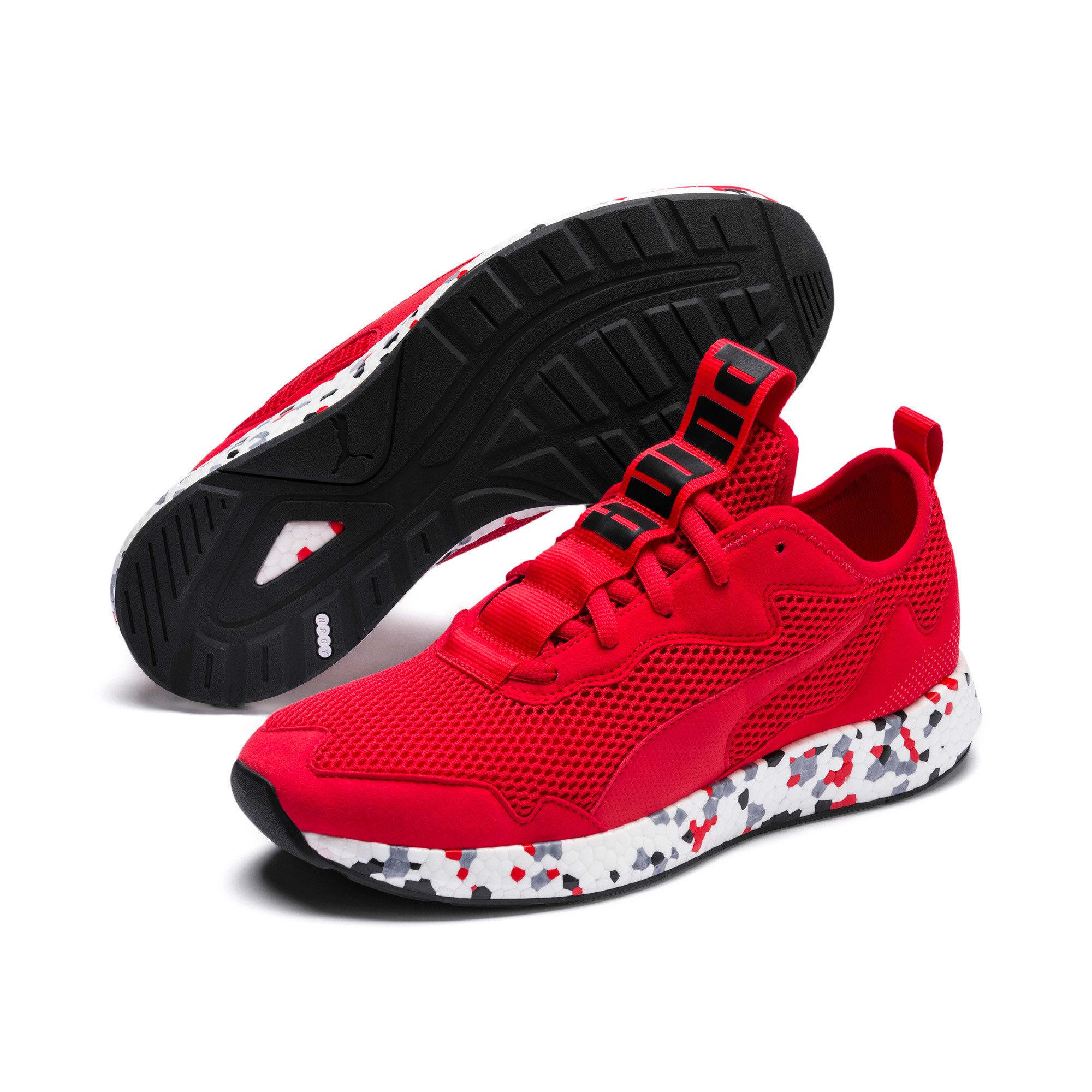 Thumbnail 8 of NRGY Neko Skim Men's Running Shoes, High Risk Red-Puma Black, medium-IND