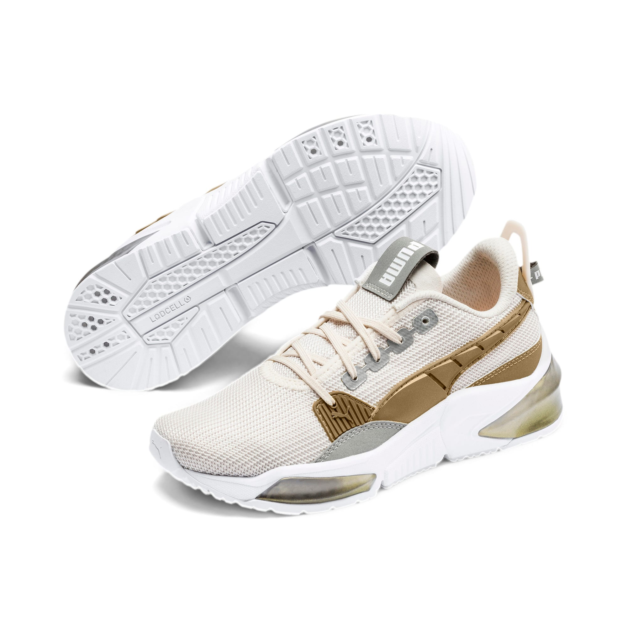 Thumbnail 2 of LQDCELL Optic Sci-Fi Women's Training Shoes, Pastel Parchment-Gold, medium