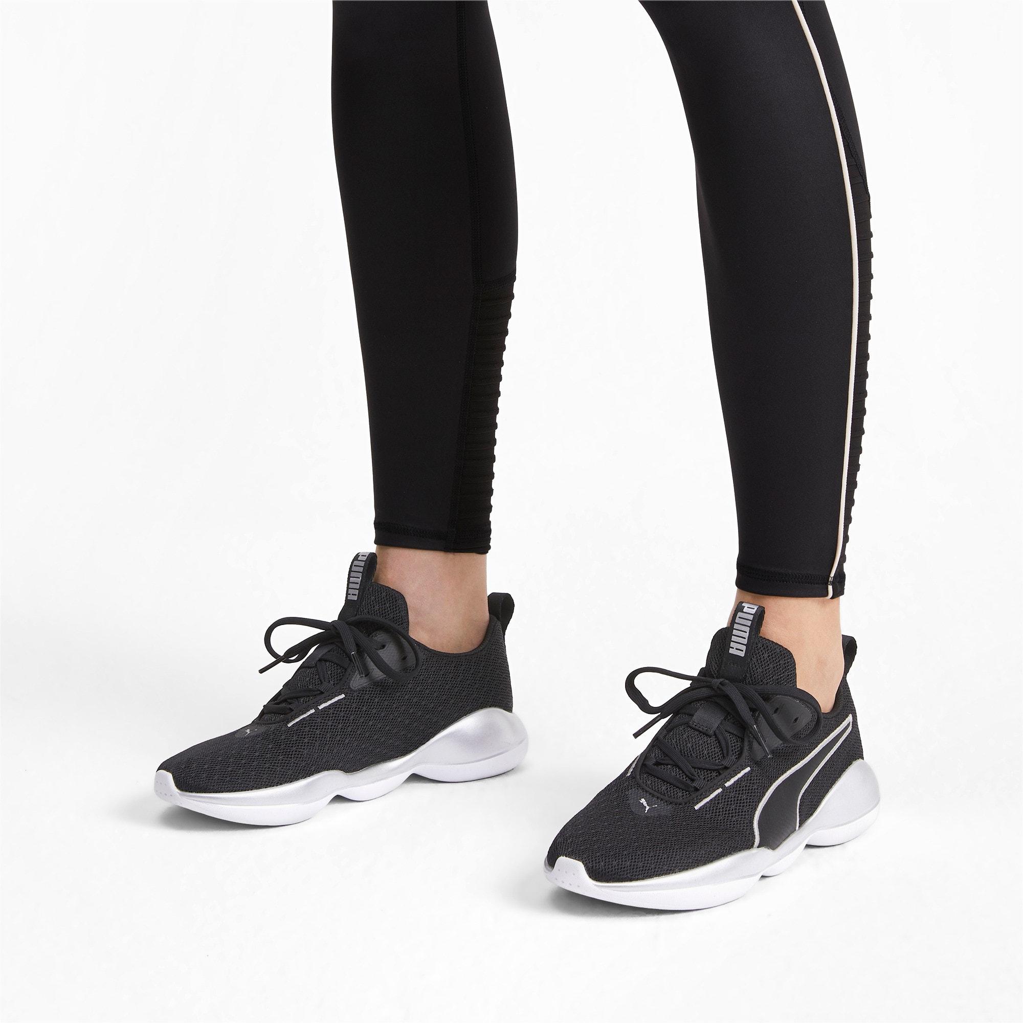 Thumbnail 3 of Flourish FS Women's Training Shoes, Puma Black-Puma White, medium