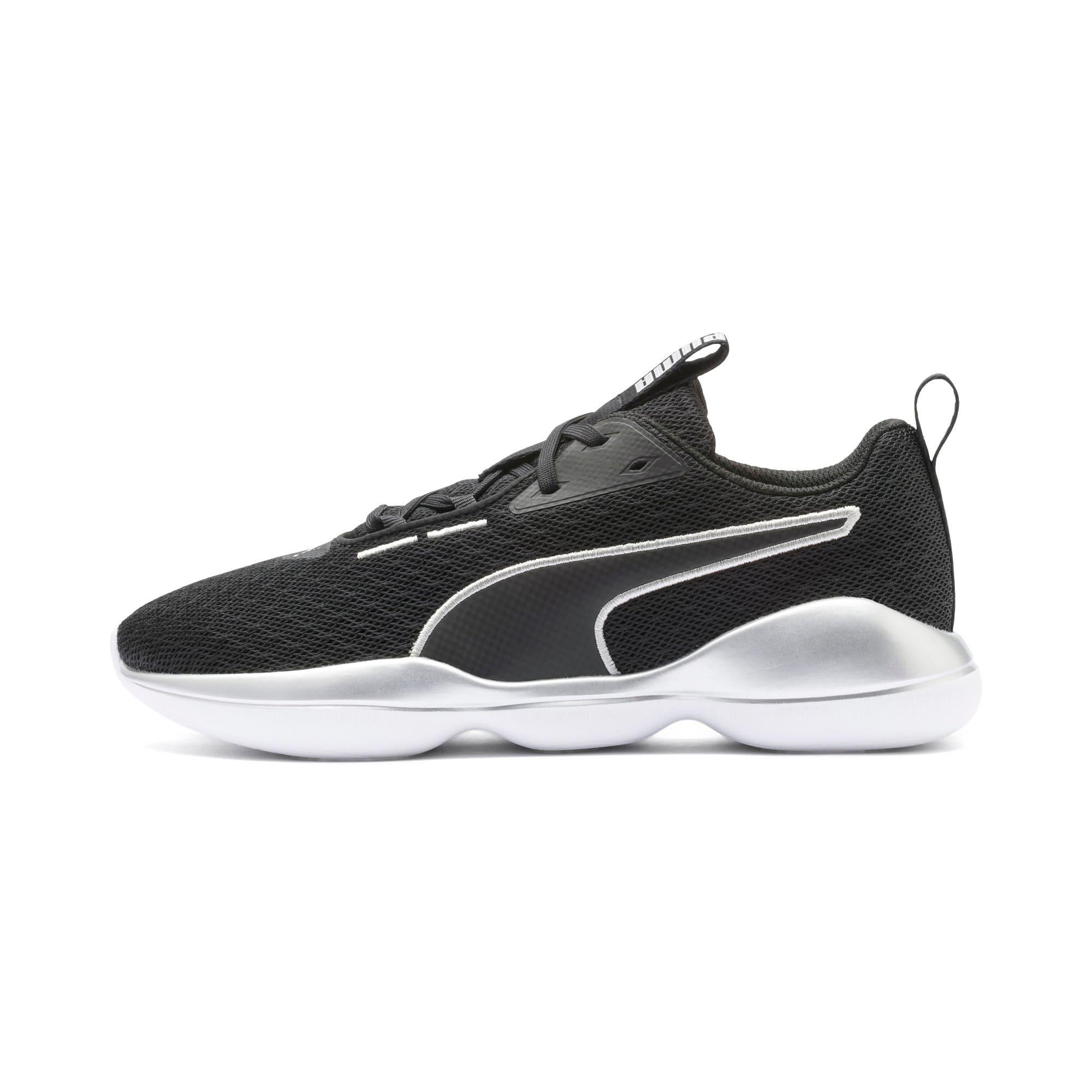 Thumbnail 1 of Flourish FS Women's Training Shoes, Puma Black-Puma White, medium