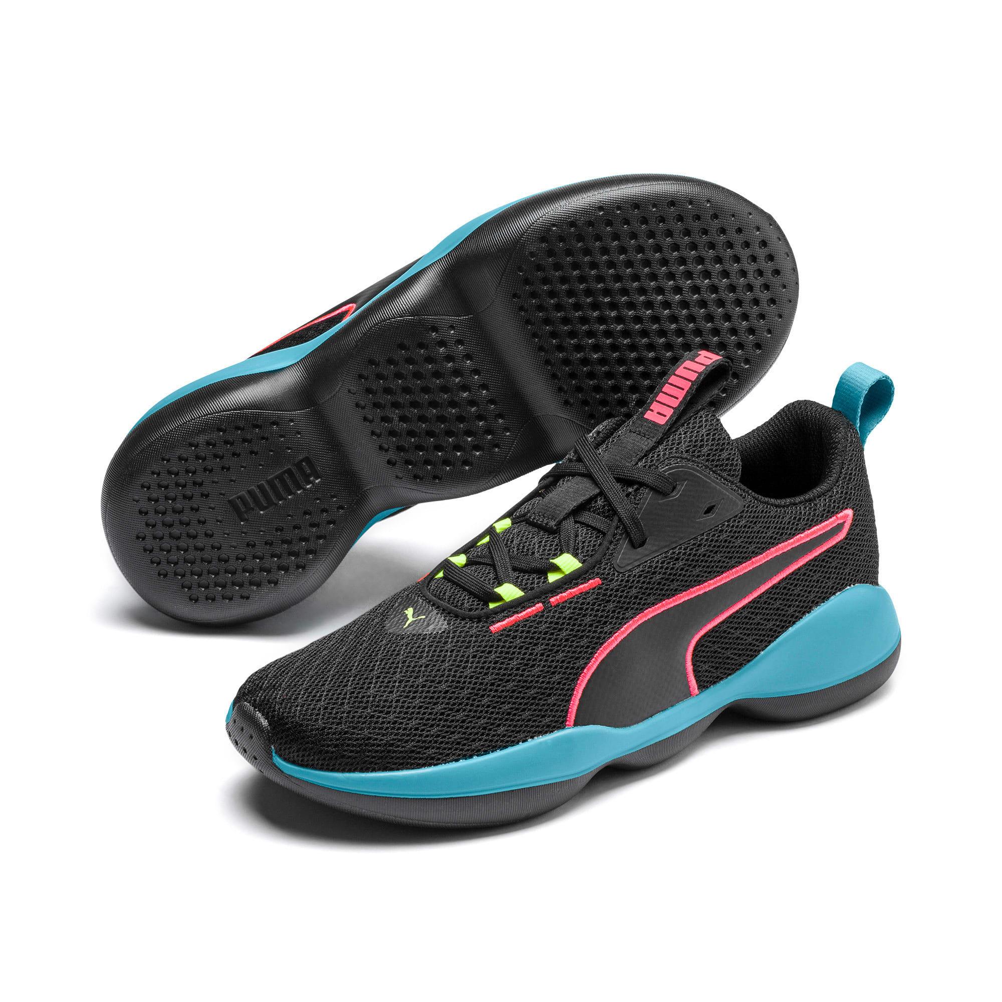 Thumbnail 2 of Flourish FS Women's Training Shoes, Puma Black-Milky Blue, medium
