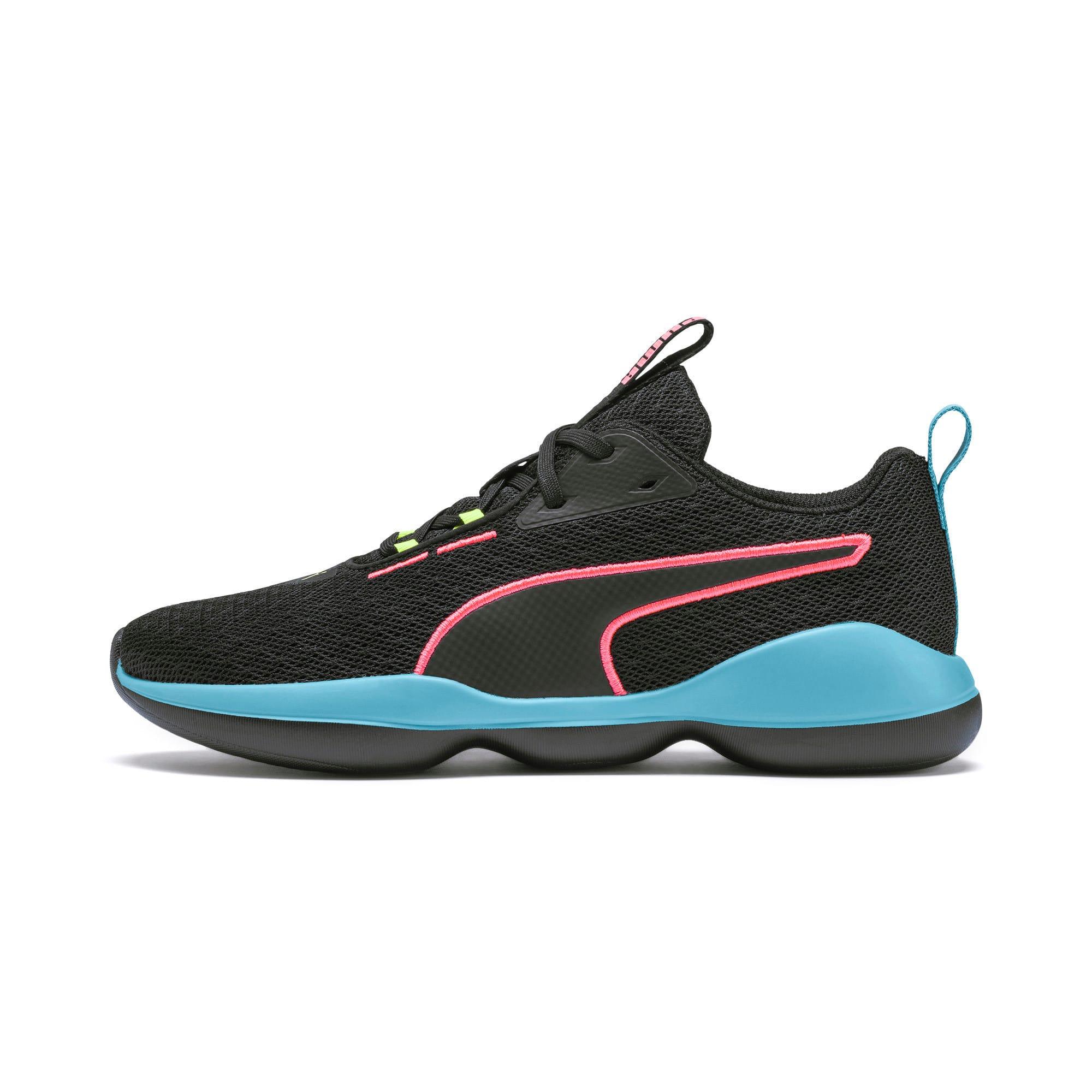 Thumbnail 1 of Flourish FS Women's Training Shoes, Puma Black-Milky Blue, medium