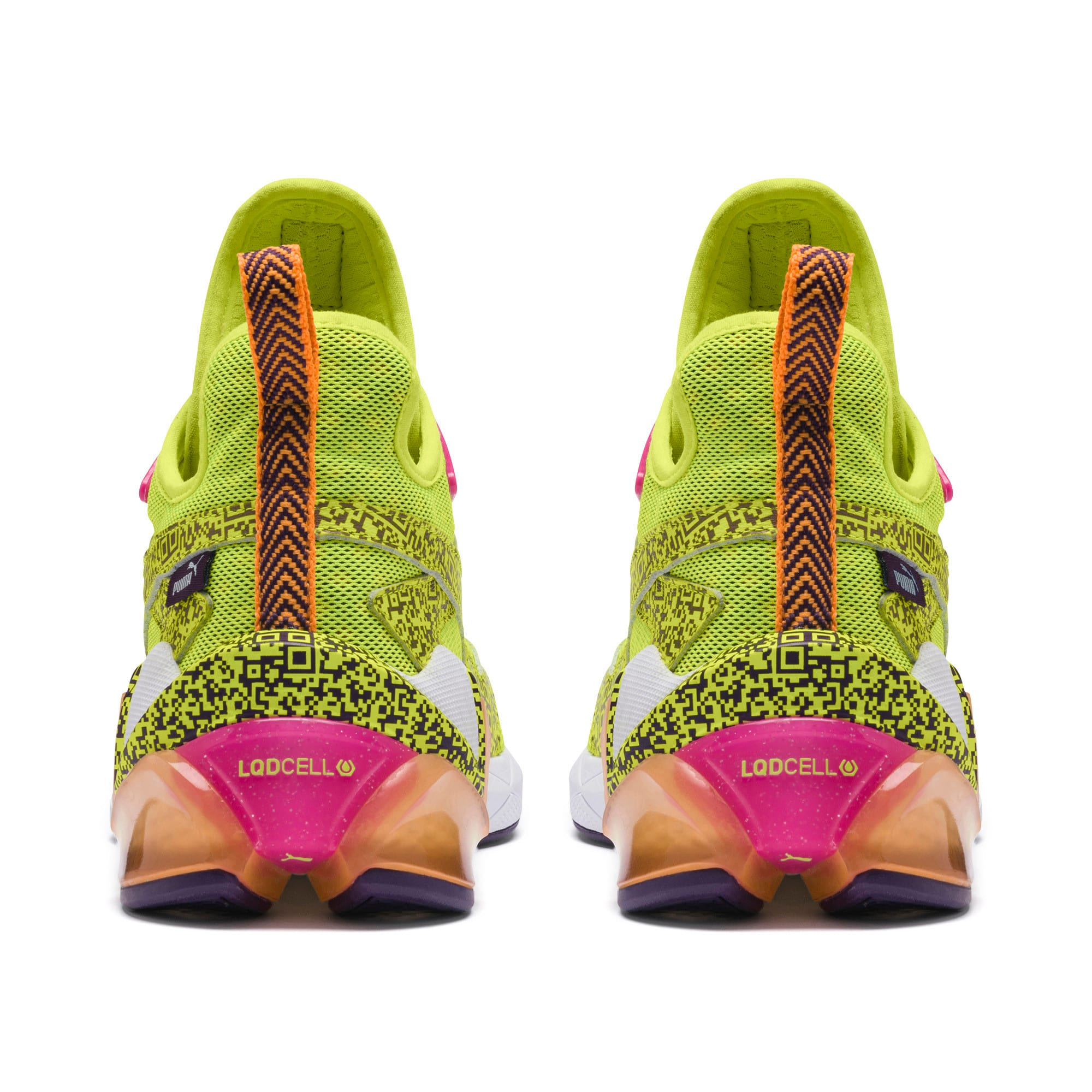 Thumbnail 3 of LQDCELL Origin AR Men's Training Shoes, Fizzy Yllow-Indigo-Ornge Pop, medium