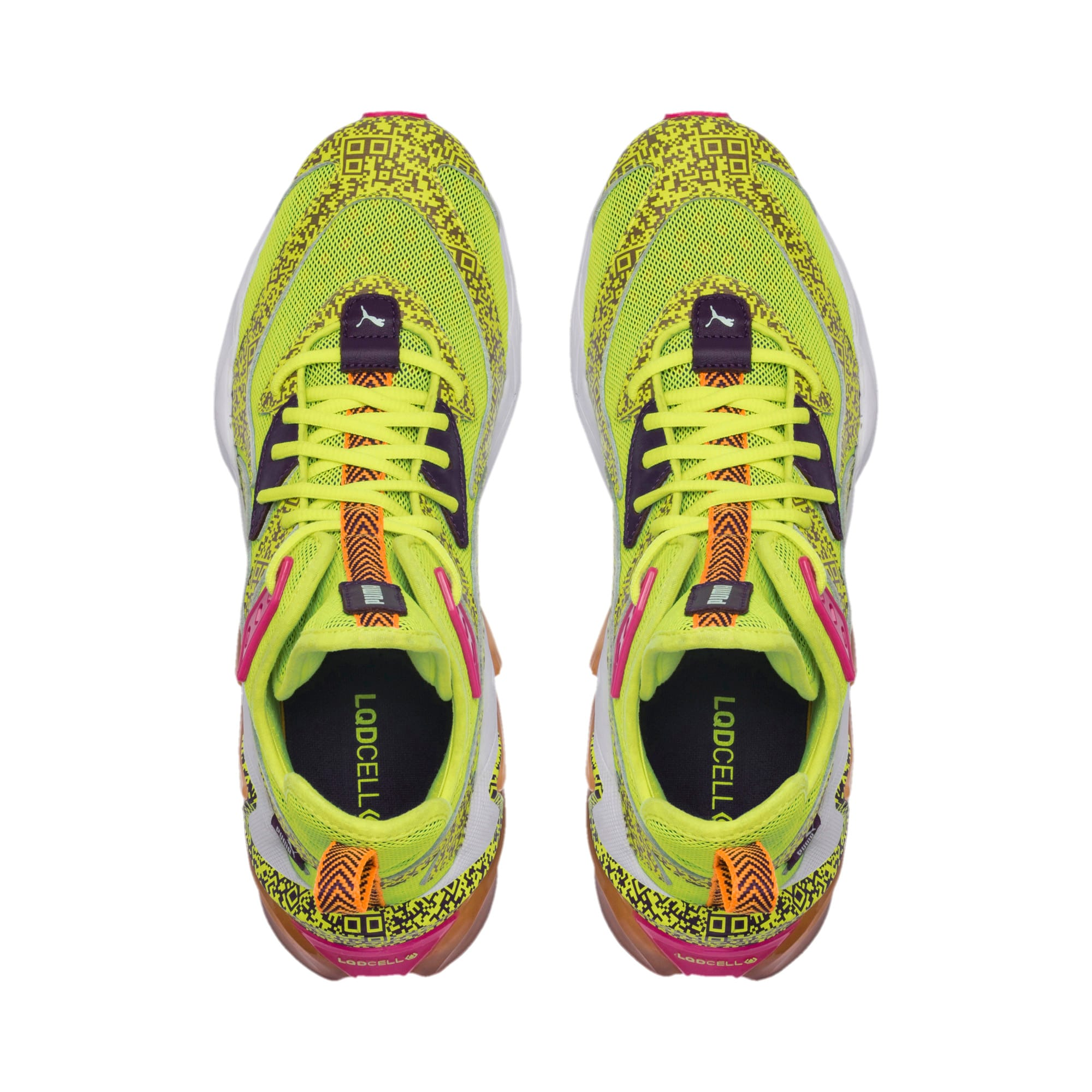 Thumbnail 6 of LQDCELL Origin AR Men's Training Shoes, Fizzy Yllow-Indigo-Ornge Pop, medium