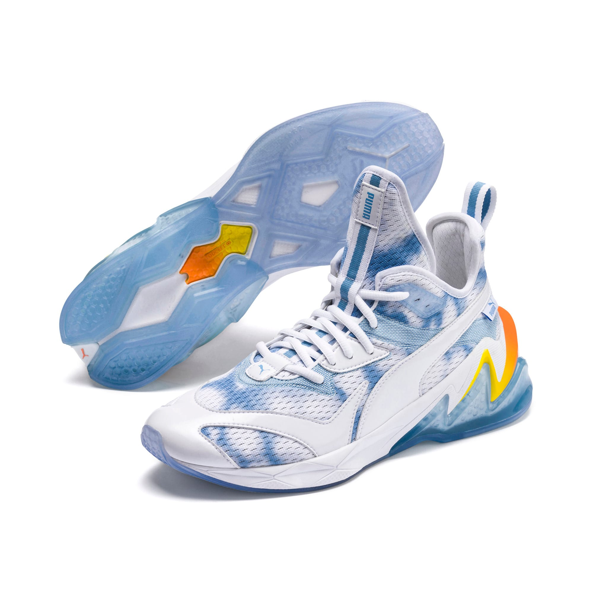 Thumbnail 2 of LQDCELL Origin Drone Day Men's Shoes, Puma White-Blazing Yellow, medium