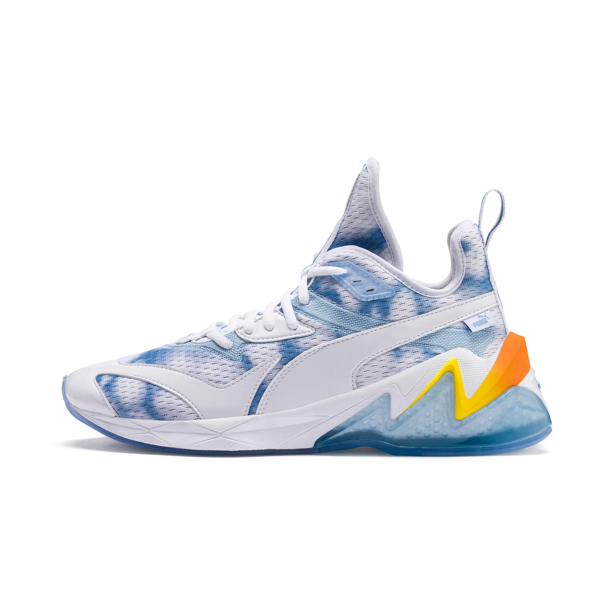Thumbnail 1 of LQDCELL Origin Drone Day Men's Shoes, Puma White-Blazing Yellow, medium
