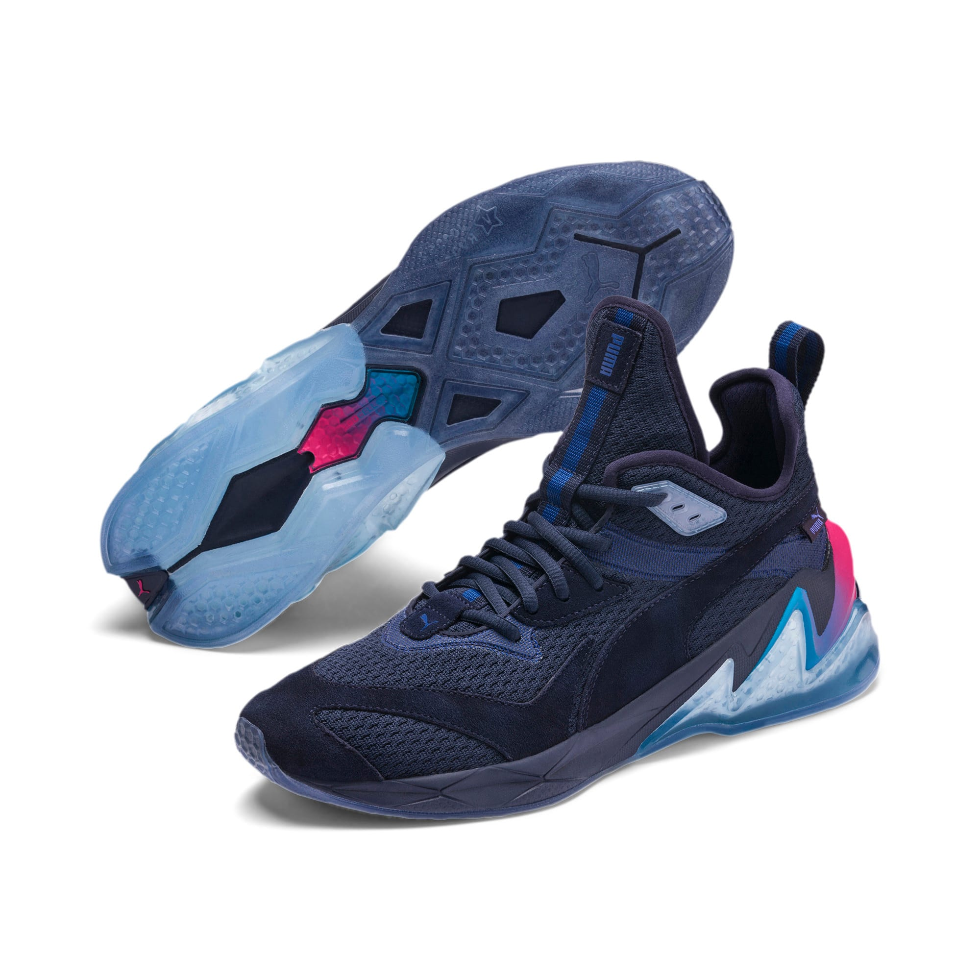 Thumbnail 2 of LQDCELL Origin Drone Night Men's Shoes, Peacat-Btr Prple-BLU Danube, medium