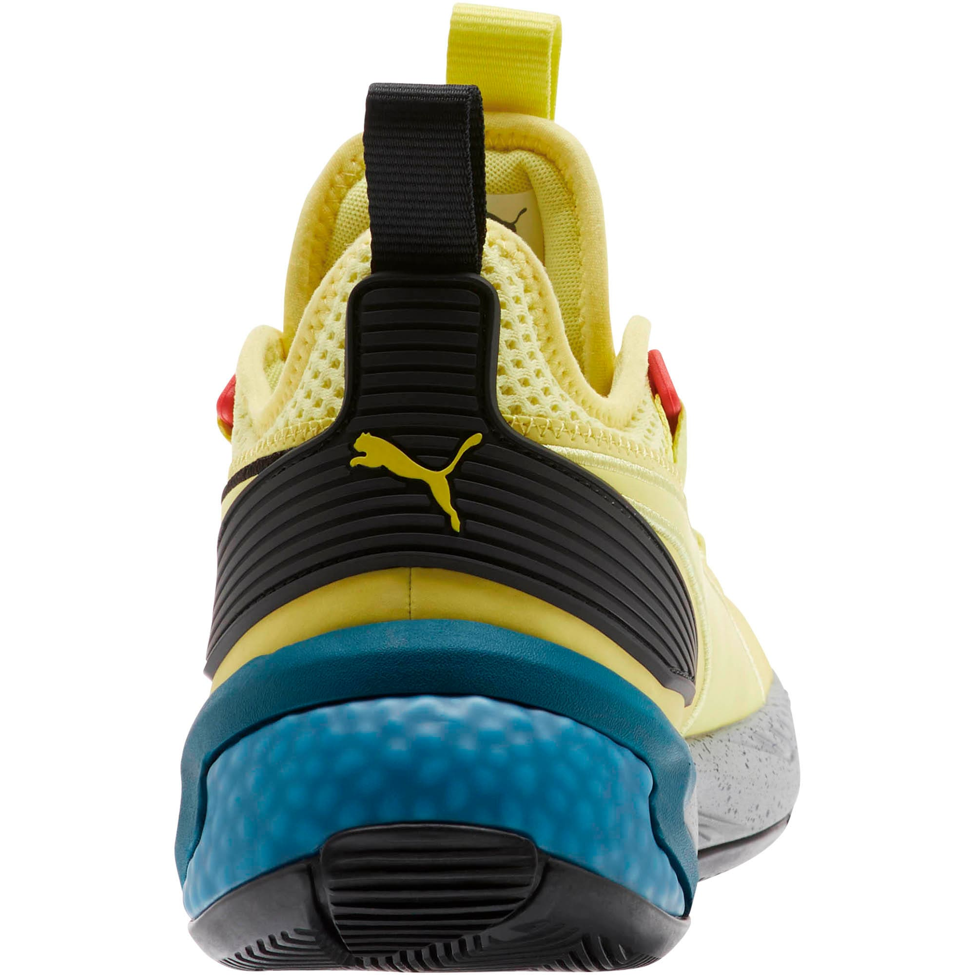 Thumbnail 3 van Uproar Spectra basketbalschoenen, Limelight-zwart-wit, medium
