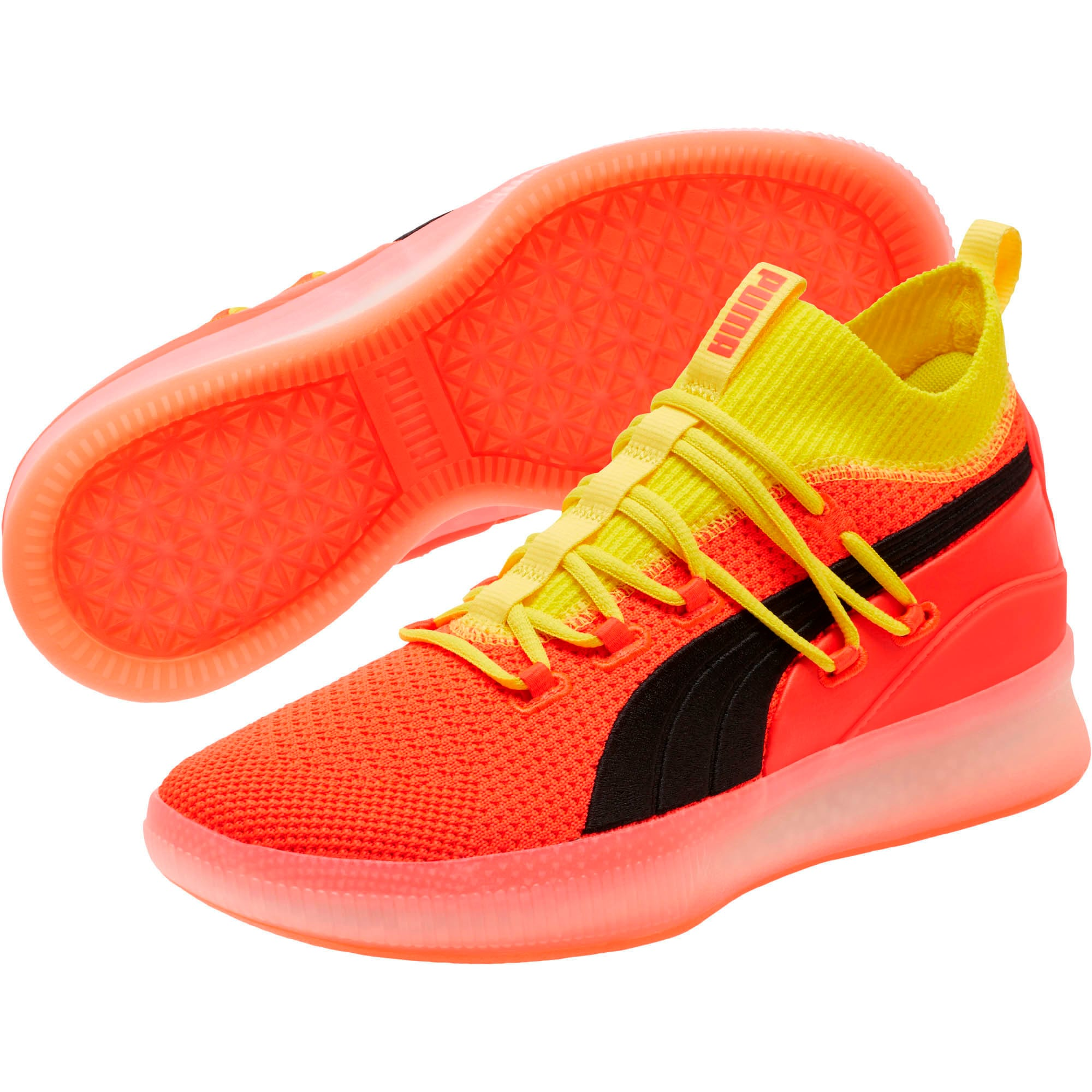 outlet store 7b15b 1dbf9 Clyde Court Basketball Shoes JR