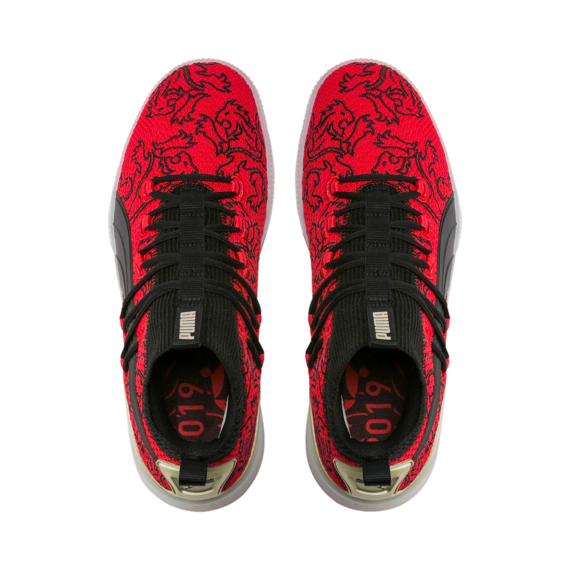 Thumbnail 6 of Clyde Court London Men's Basketball Shoes, High Risk Red-Puma Black, medium