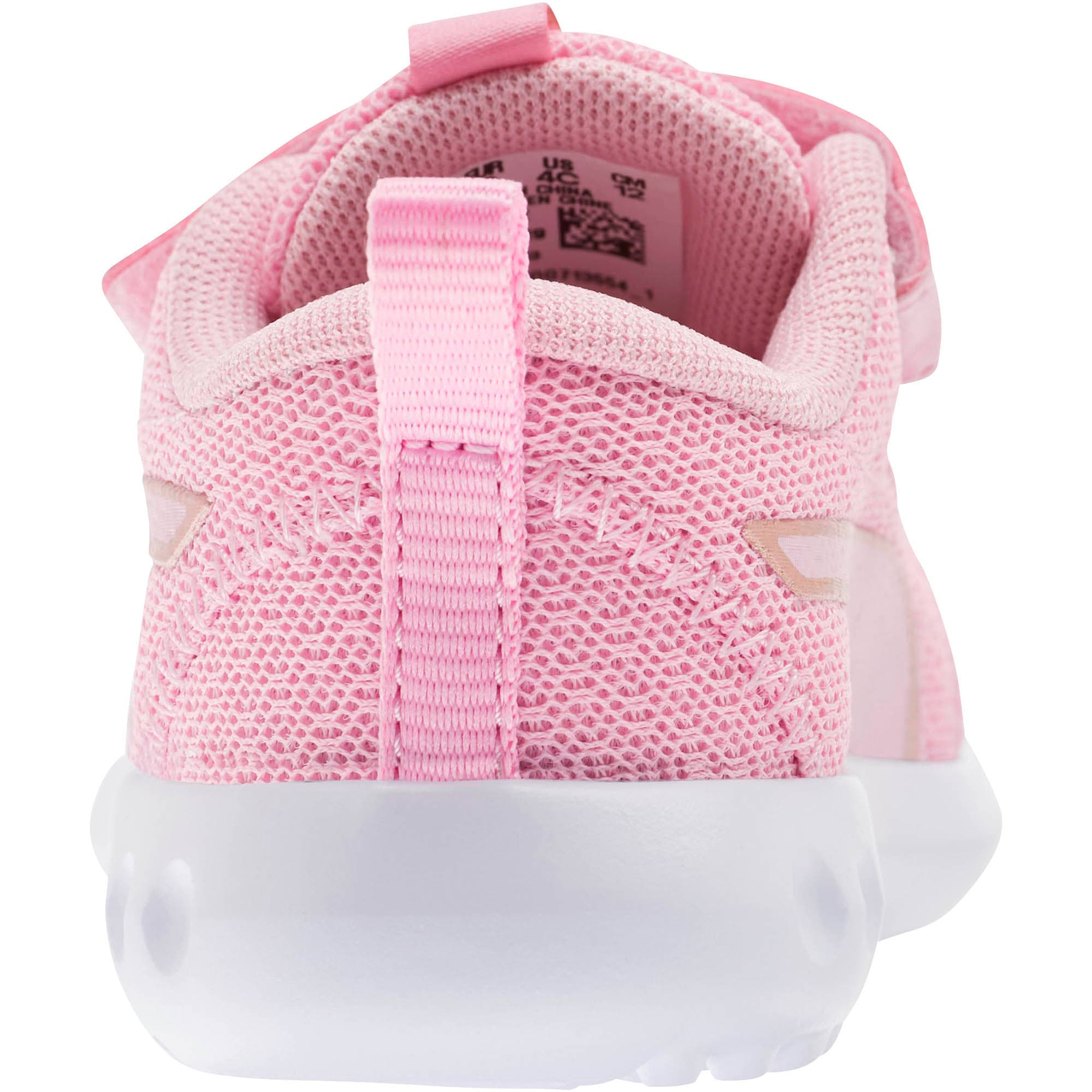 Thumbnail 3 of Carson 2 Metallic Mesh Toddler Shoes, Pale Pink-Rose Gold, medium