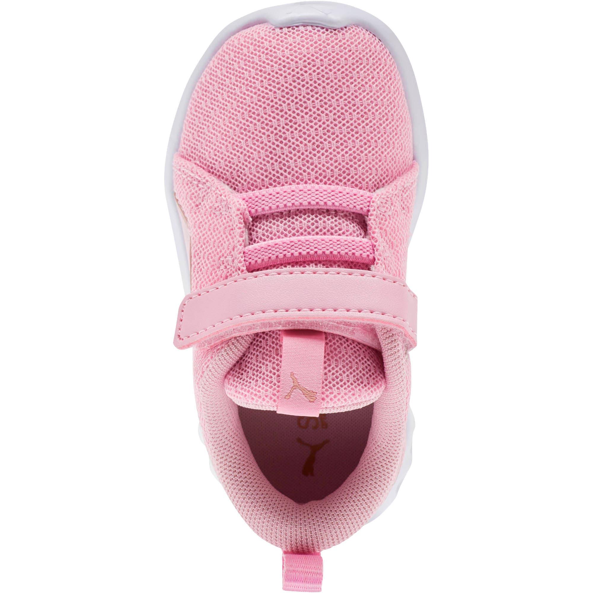 Thumbnail 5 of Carson 2 Metallic Mesh Toddler Shoes, Pale Pink-Rose Gold, medium