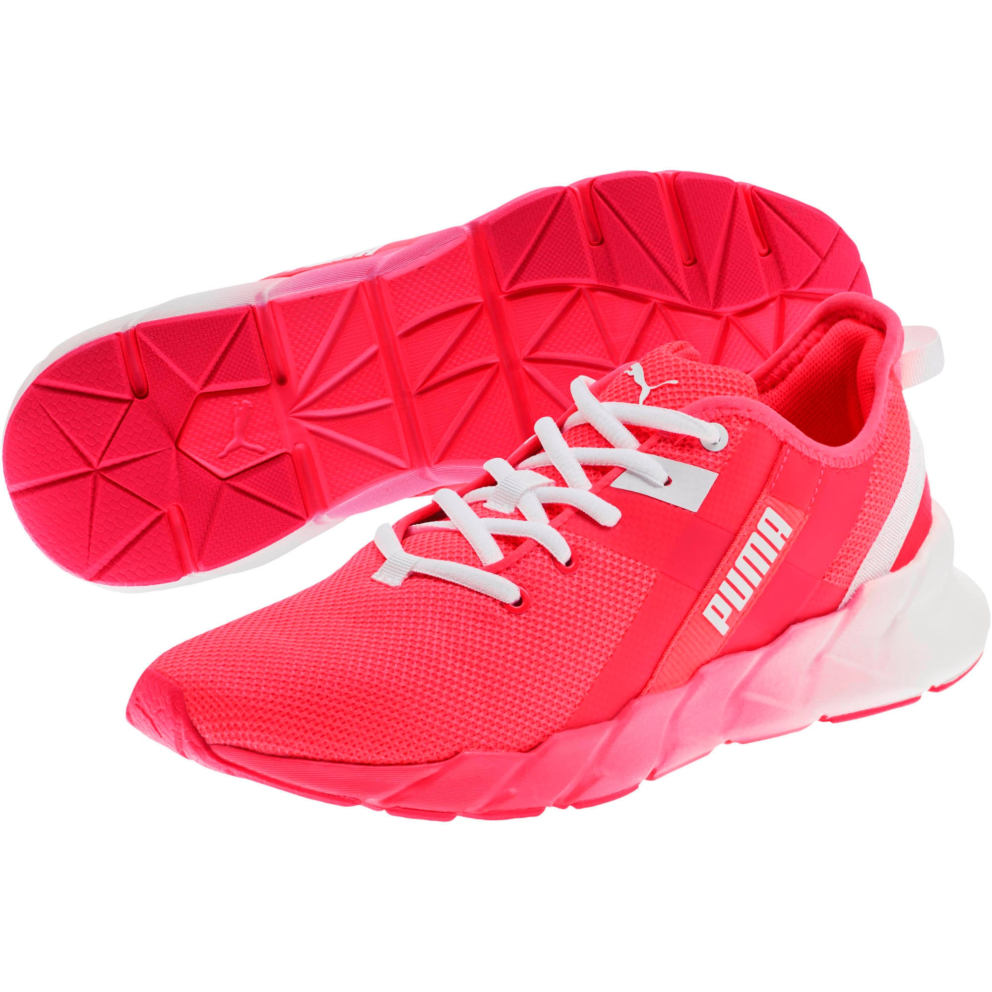 Thumbnail 2 of Weave XT Fade Women's Training Shoes, Pink Alert-Puma White, medium