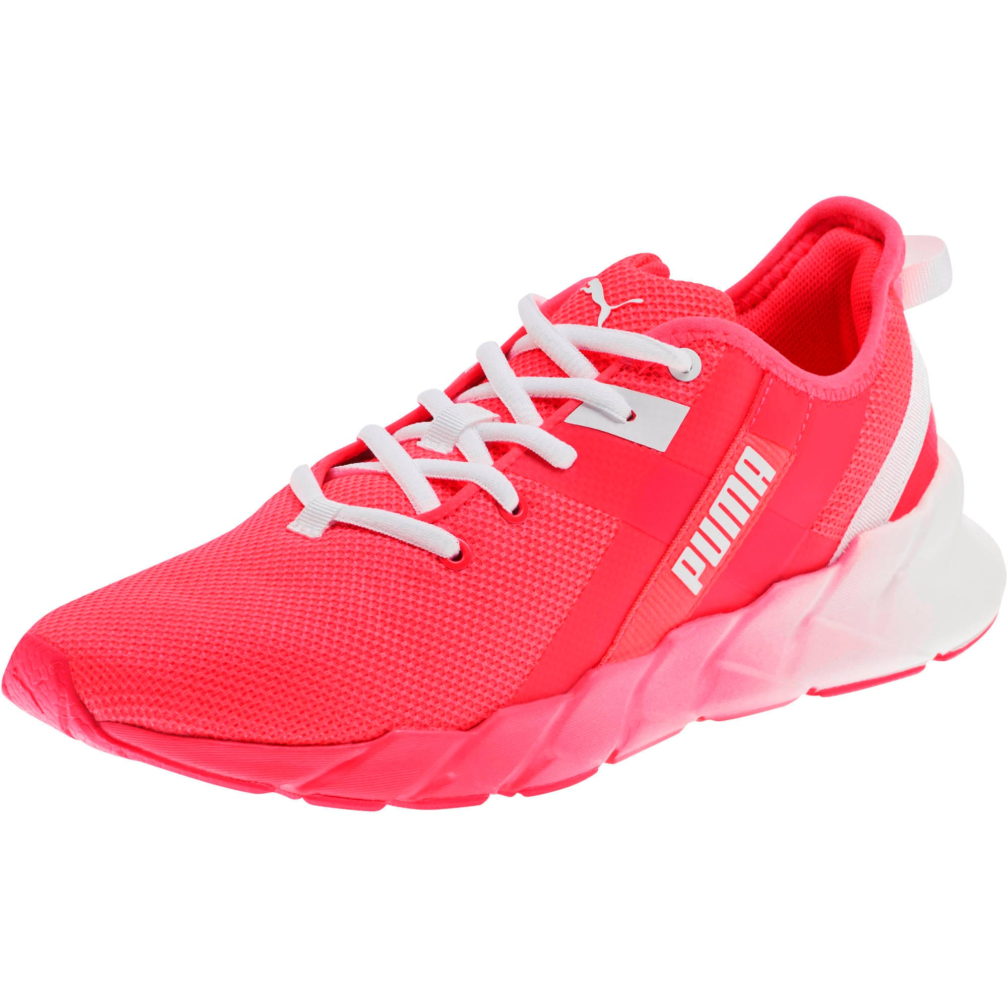 Thumbnail 1 of Weave XT Fade Women's Training Shoes, Pink Alert-Puma White, medium