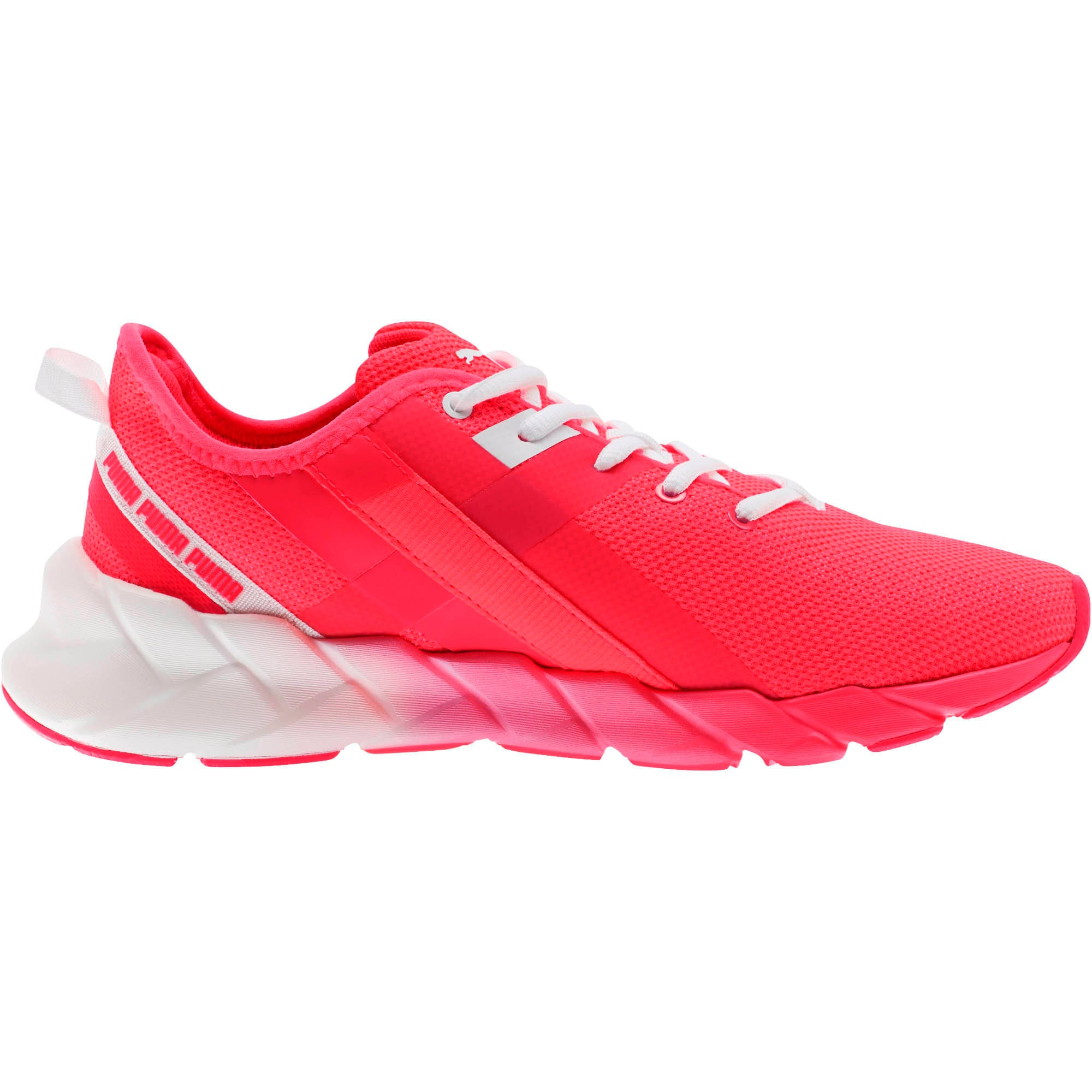 Thumbnail 4 of Weave XT Fade Women's Training Shoes, Pink Alert-Puma White, medium