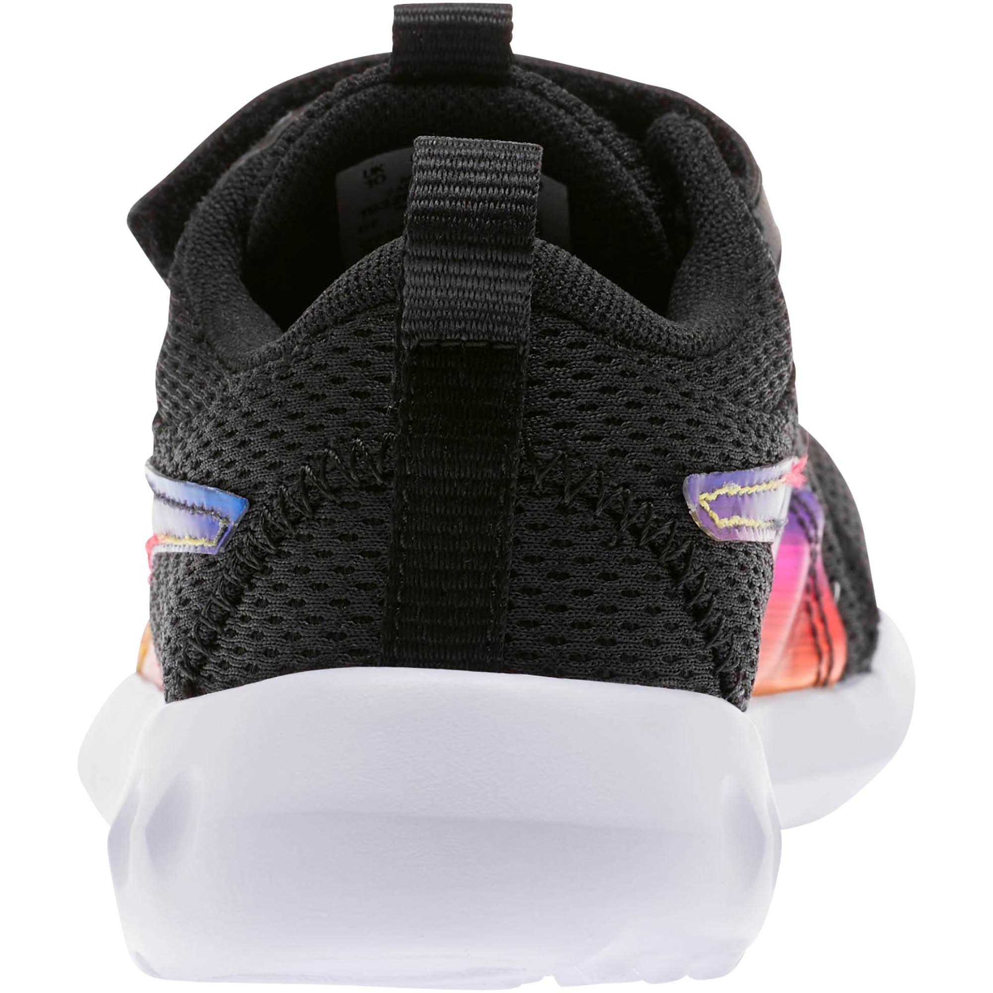 Thumbnail 3 of Carson 2 Iridescent Little Kids' Shoes, Puma Black-Puma White, medium