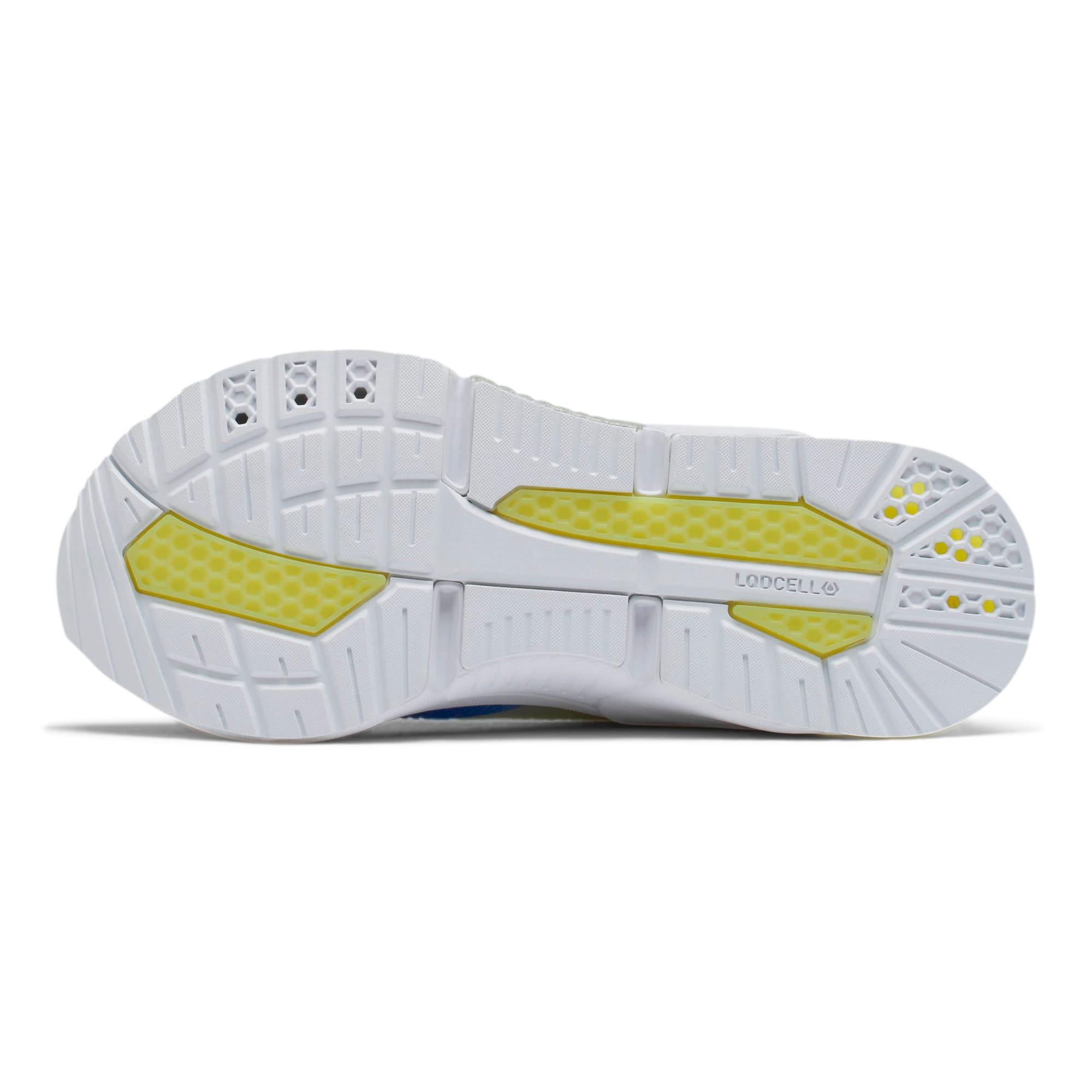 Thumbnail 4 of LQDCELL Optic Sheer Training Shoes JR, White-Nrgy Rose-Yellow, medium
